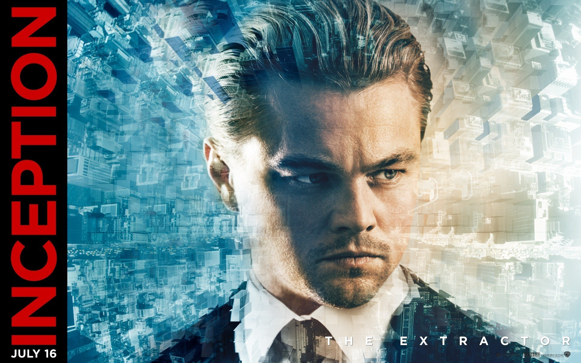1920x1200 Leonardo DiCaprio Inception Movie Cover Image