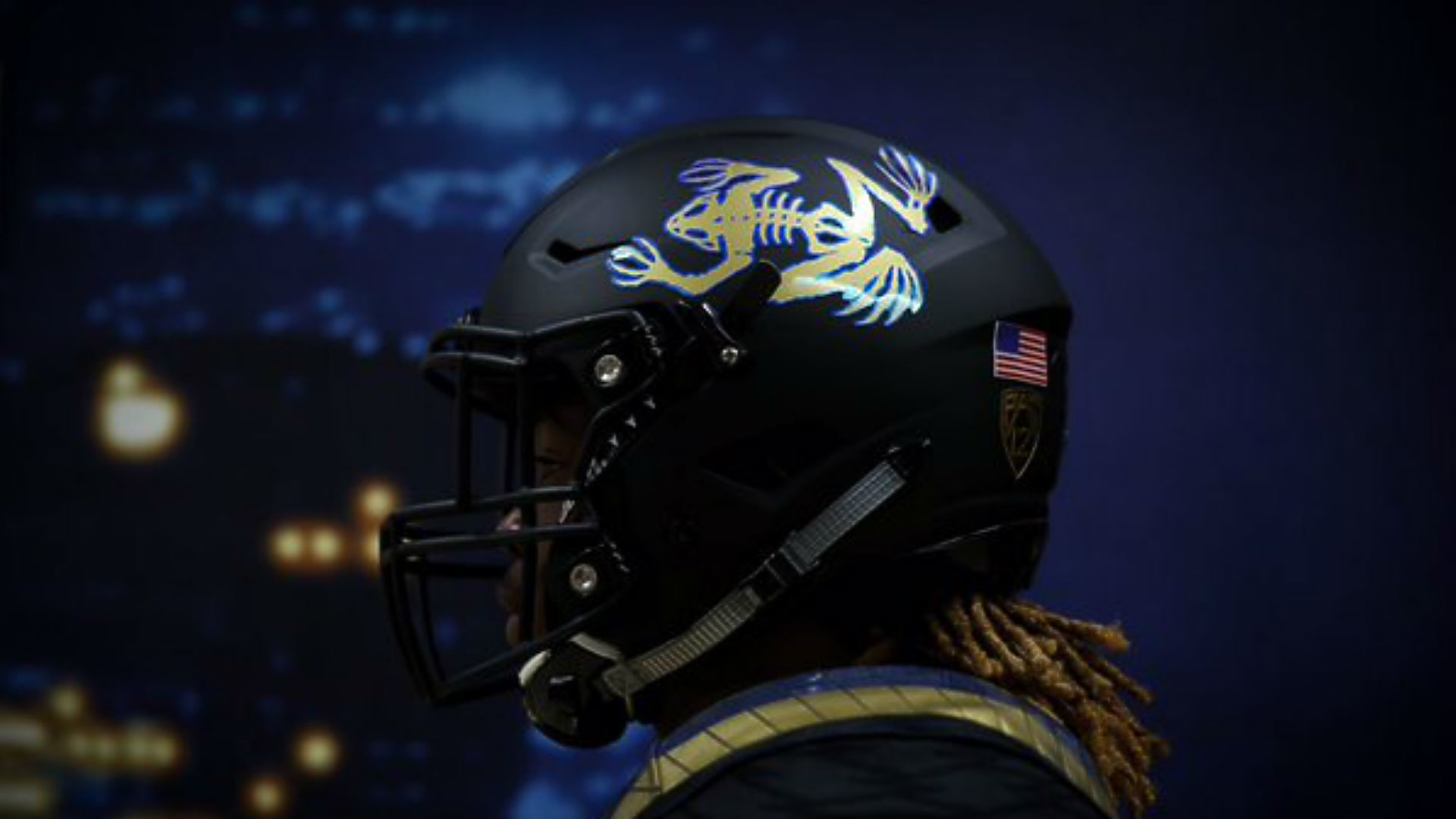1920x1080 UCLA unveils 'frogman' helmets for Saturday's game | NCAA Football |  Sporting News