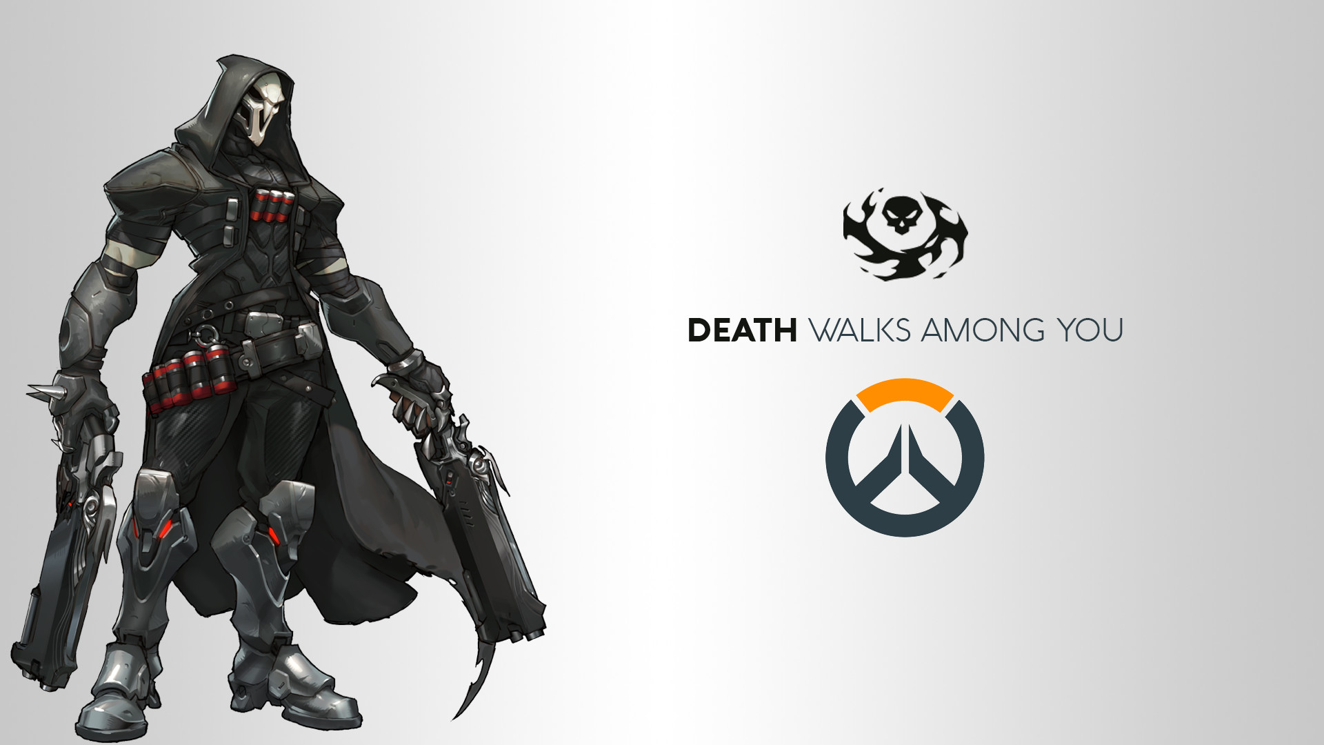 1920x1080 Video Game - Overwatch Reaper (Overwatch) Wallpaper