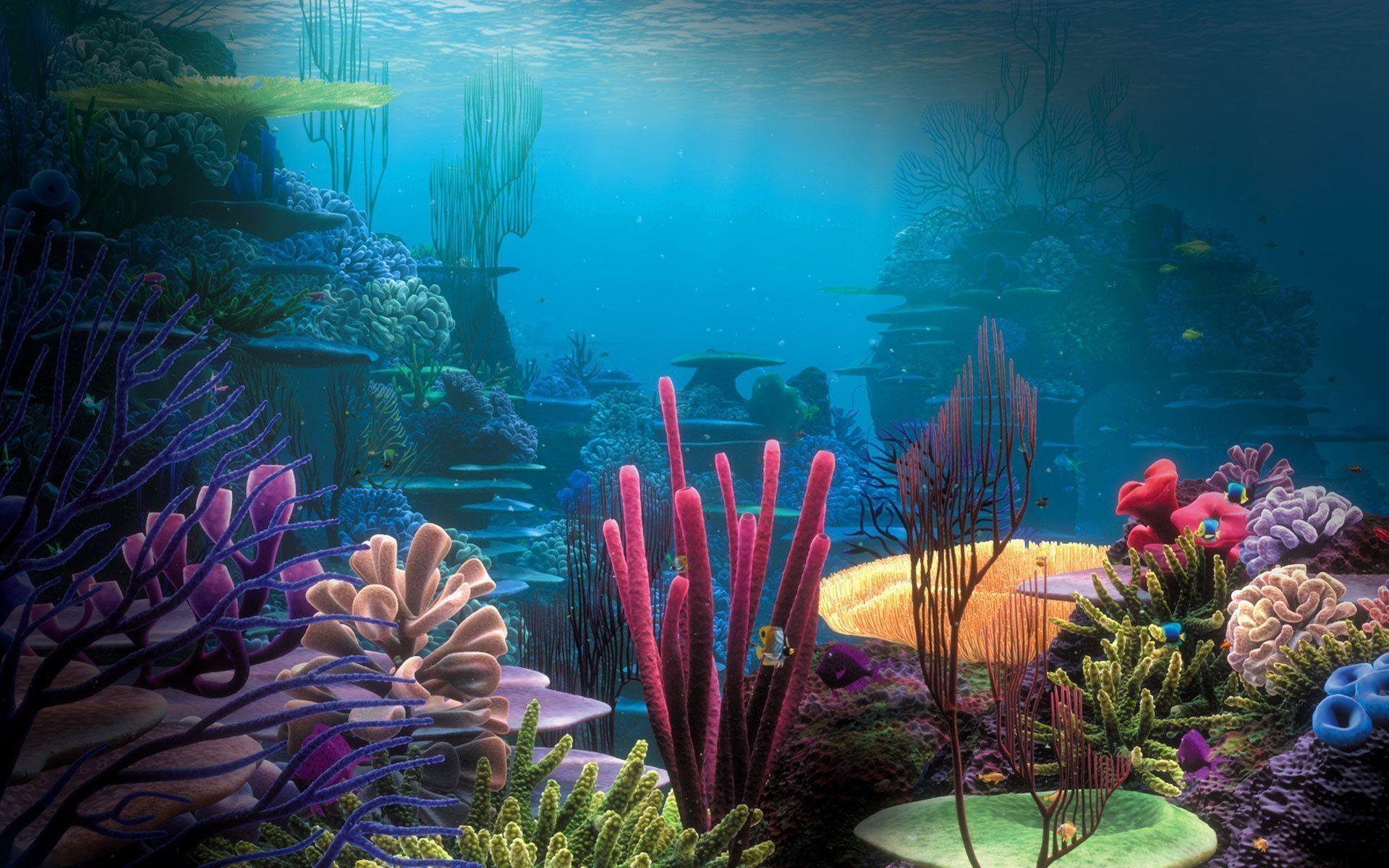 3d aquarium wallpaper 52 images 1920x1080 marine aquarium desktop wallpaper voltagebd Images
