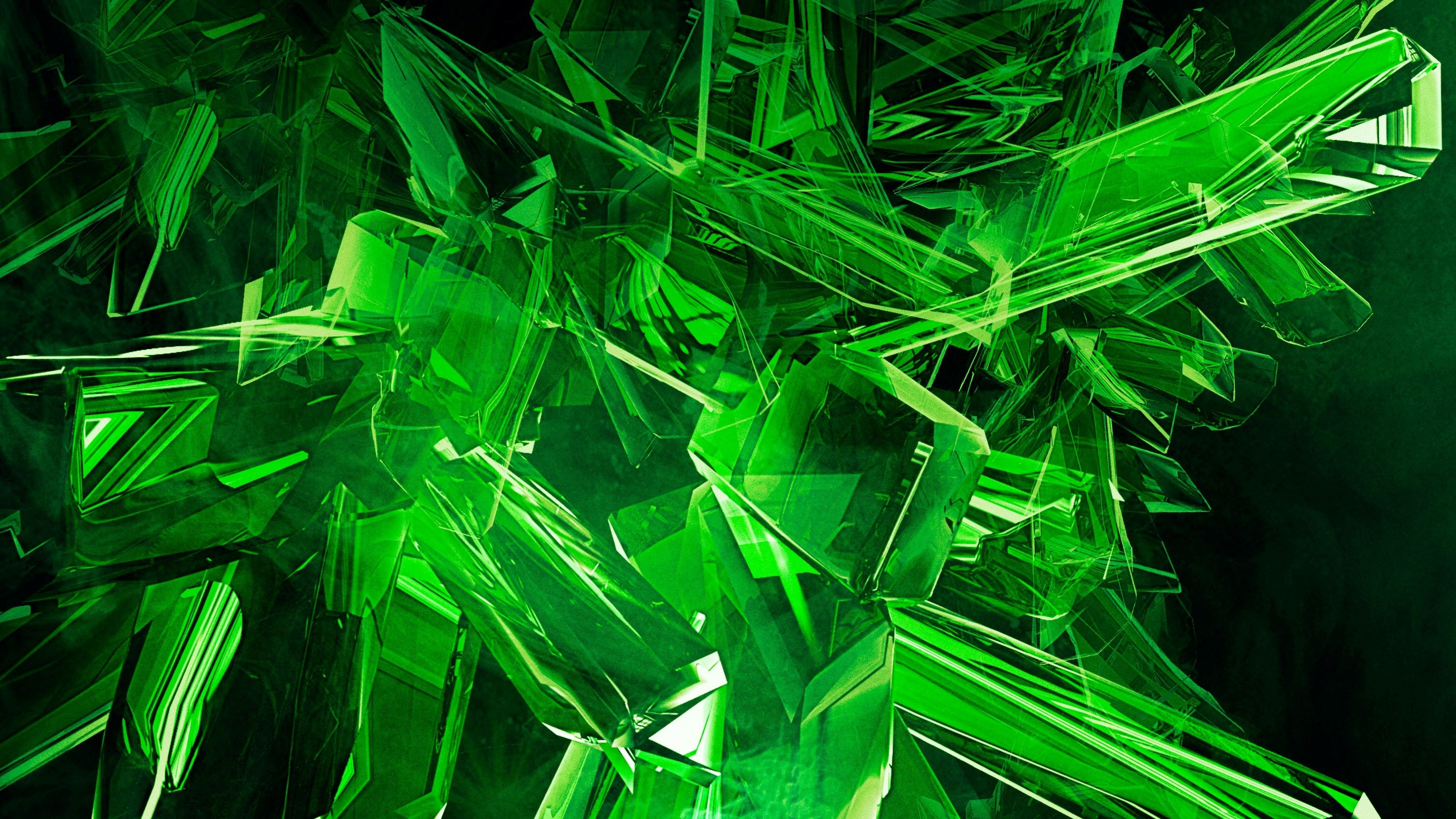 2975x1673 cool desktop hd wallpaper 14591 Image Green View Abstract Gems Cool HD .