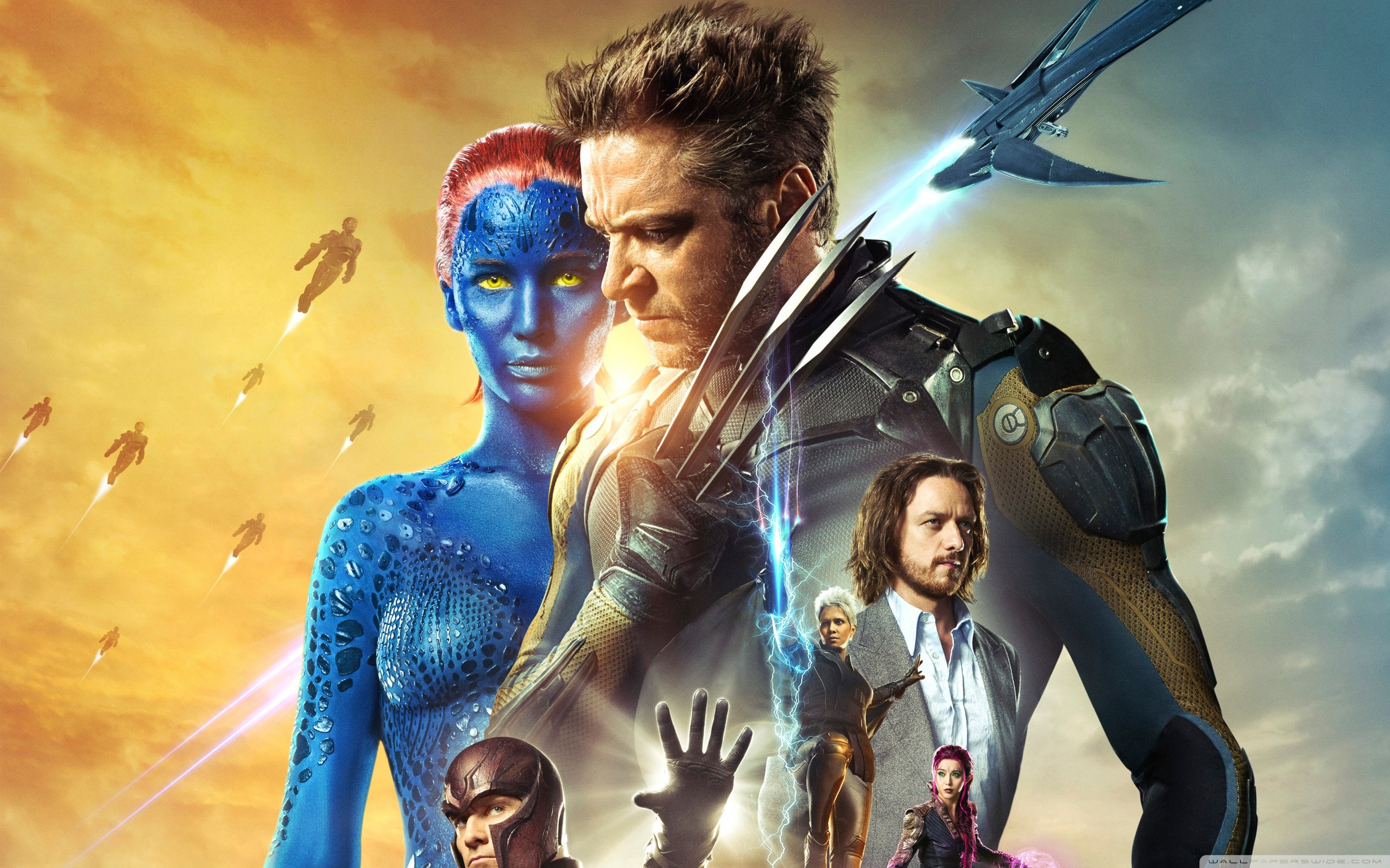 2880x1800 X-Men Days of Future Past 2014 HD Wide Wallpaper for Widescreen