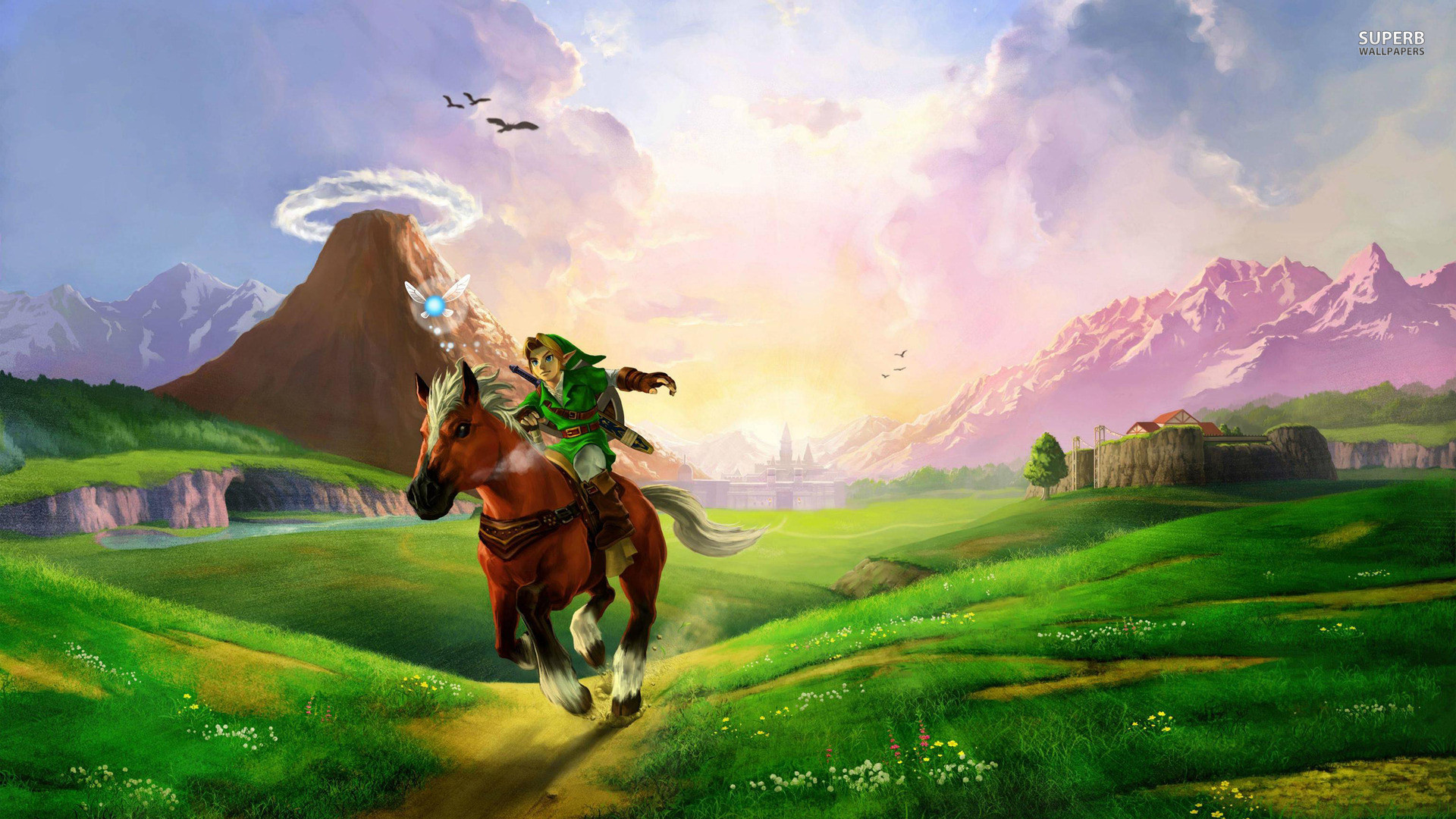 ocarina of time wallpaper hd (74+ images)