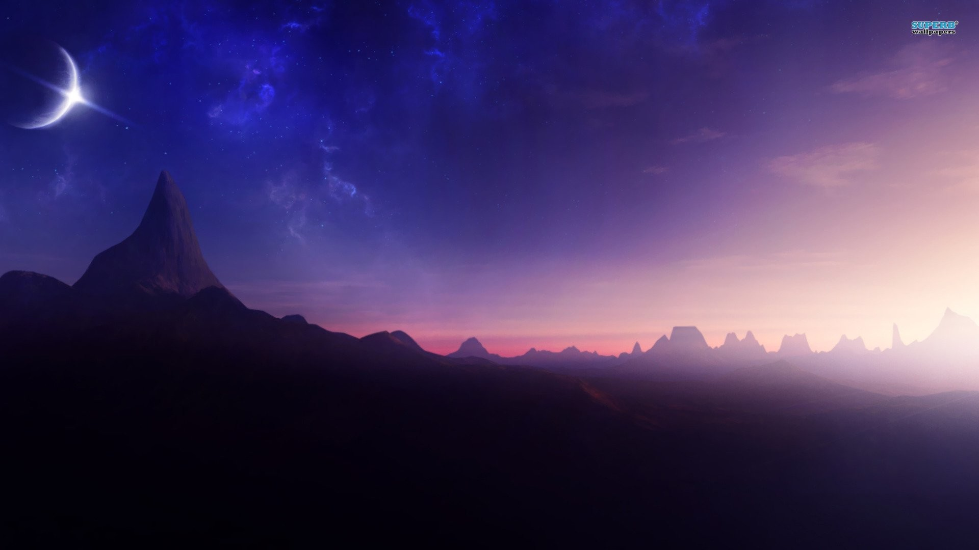 Wallpapers Of Stars And Moon (74+ Images