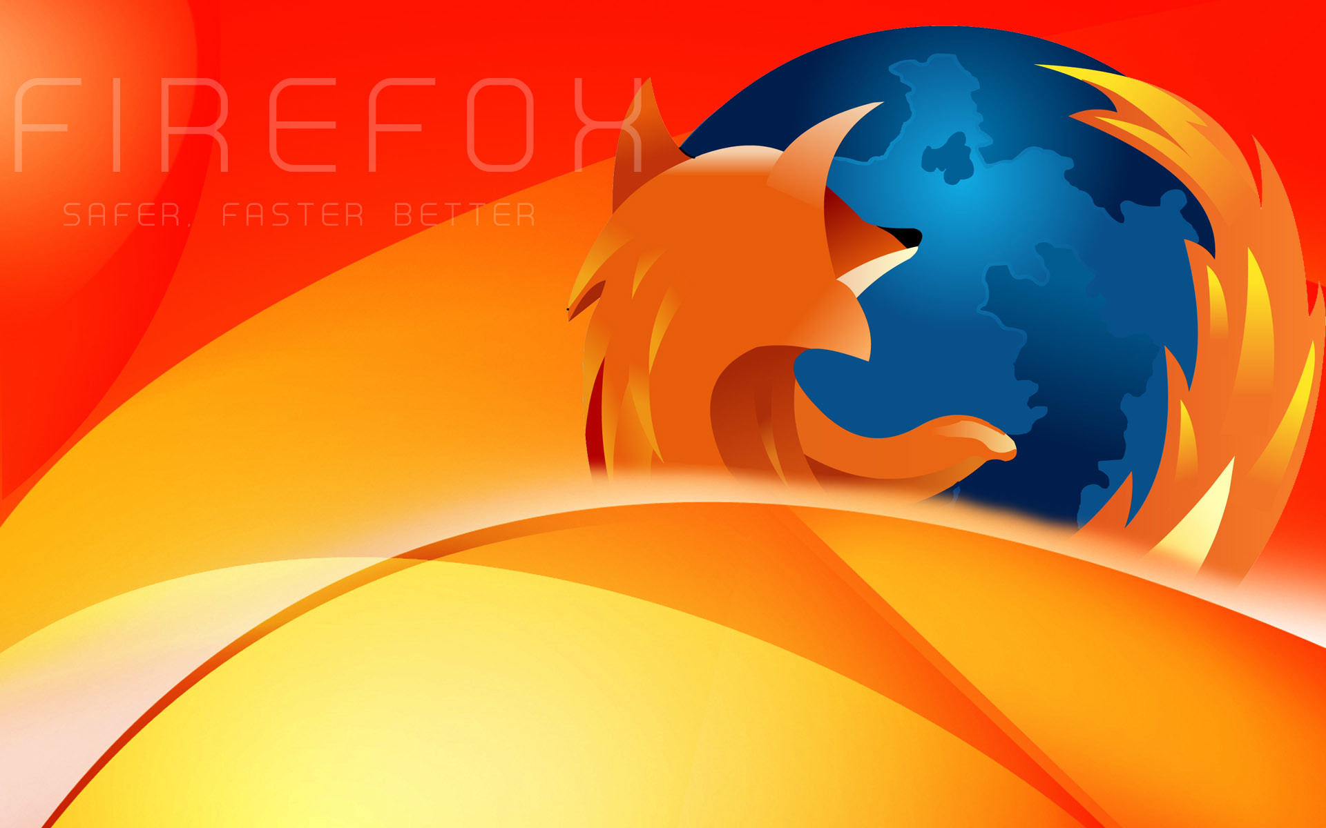 1920x1200 Mozilla Firefox Backgrounds for Presentation - PPT Backgrounds Templates