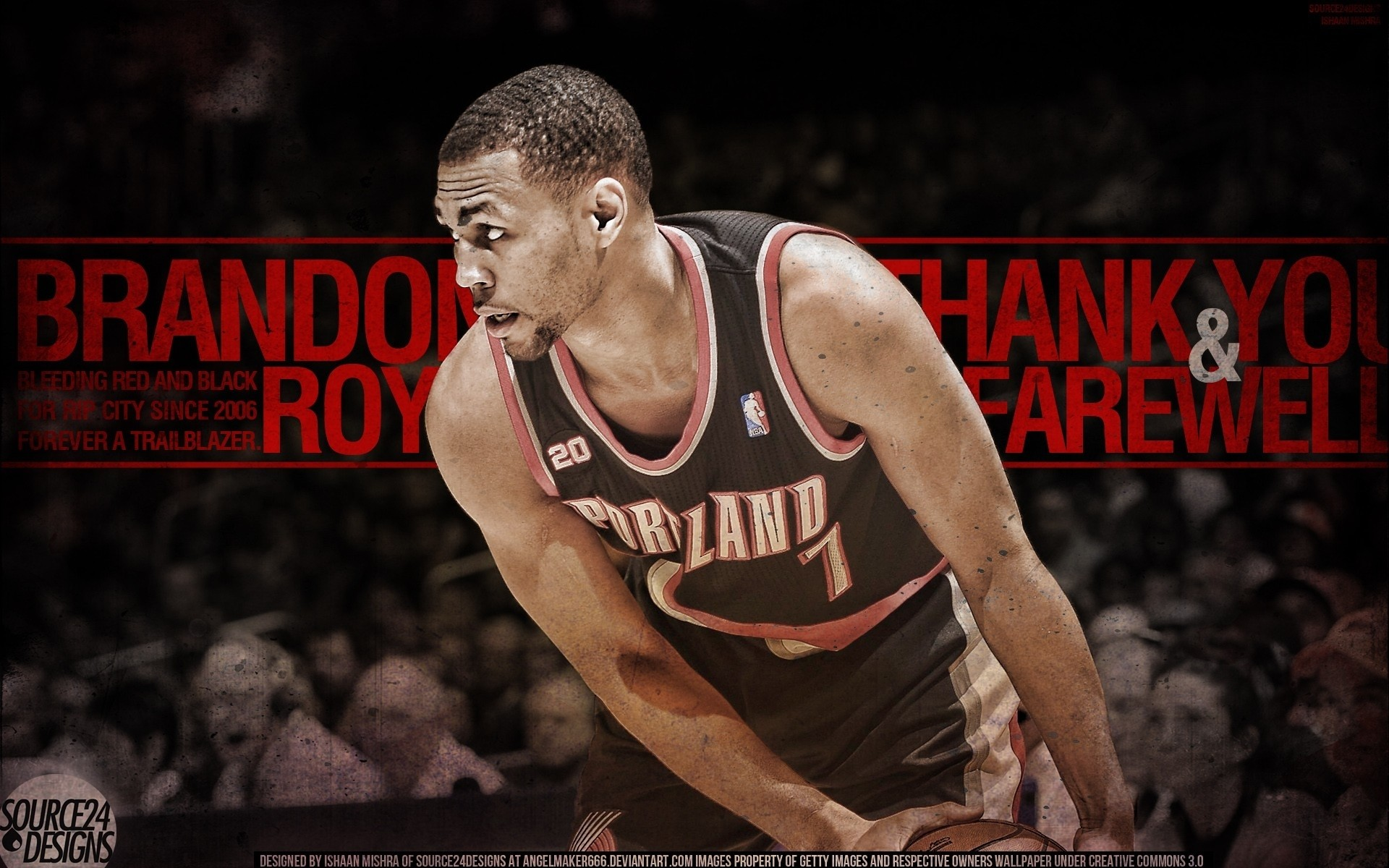 1920x1200 Nba brandon roy portland trailblazers wallpaper |  | 85368 |  WallpaperUP