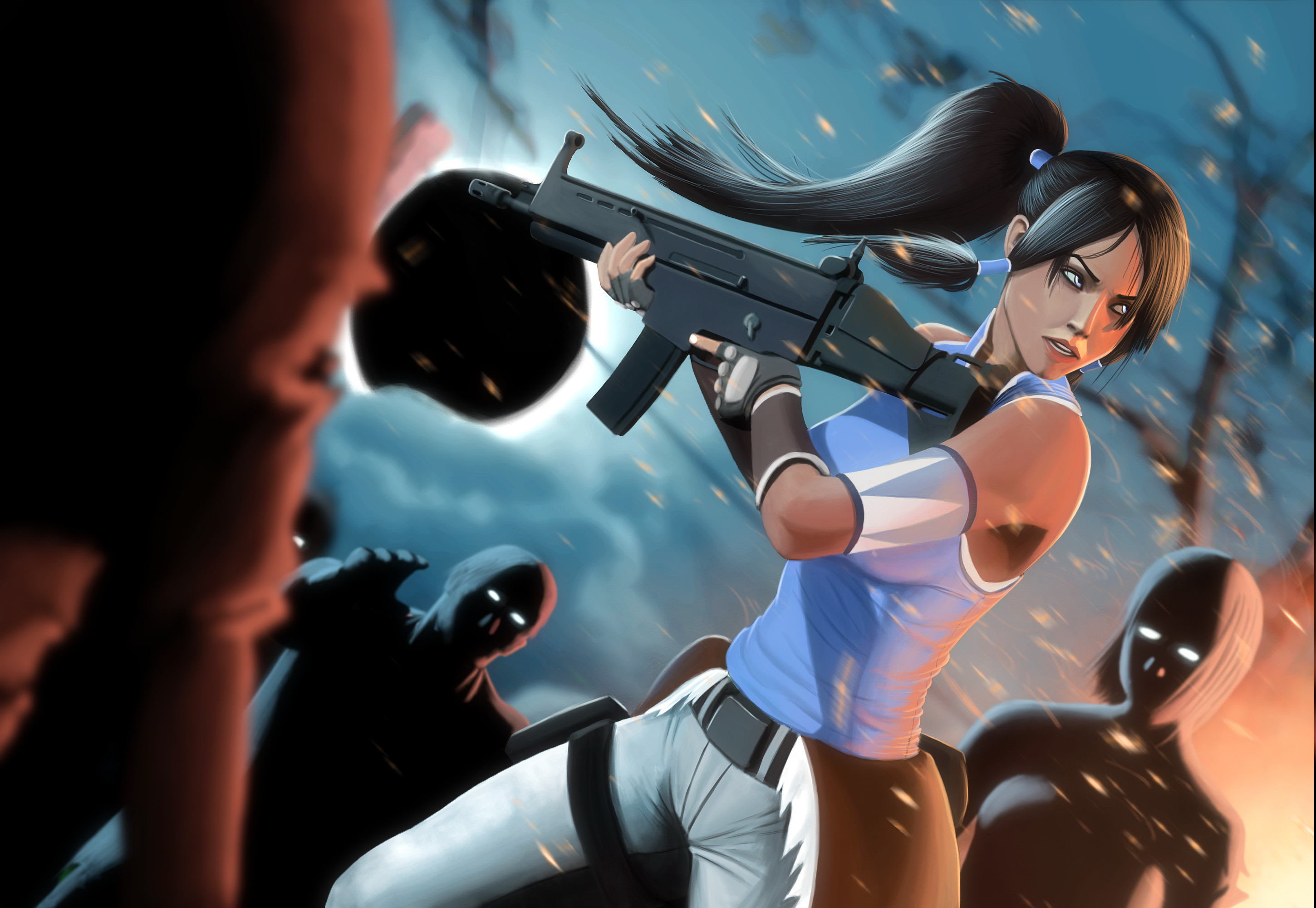 2900x2000 The Legend Of Korra, Korra, Zombies Wallpapers HD / Desktop and Mobile  Backgrounds