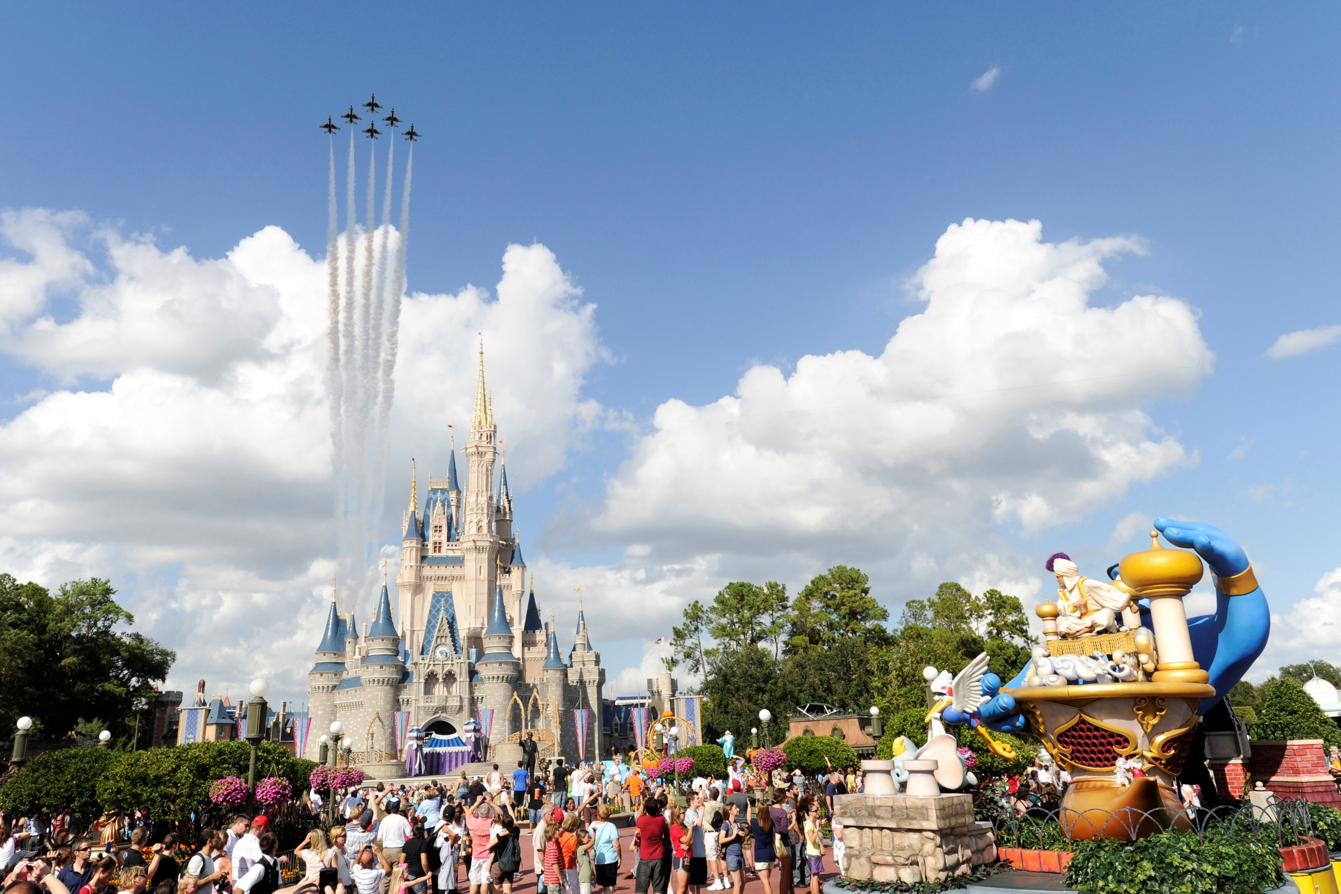 Cached Aerial pictures walt disney world
