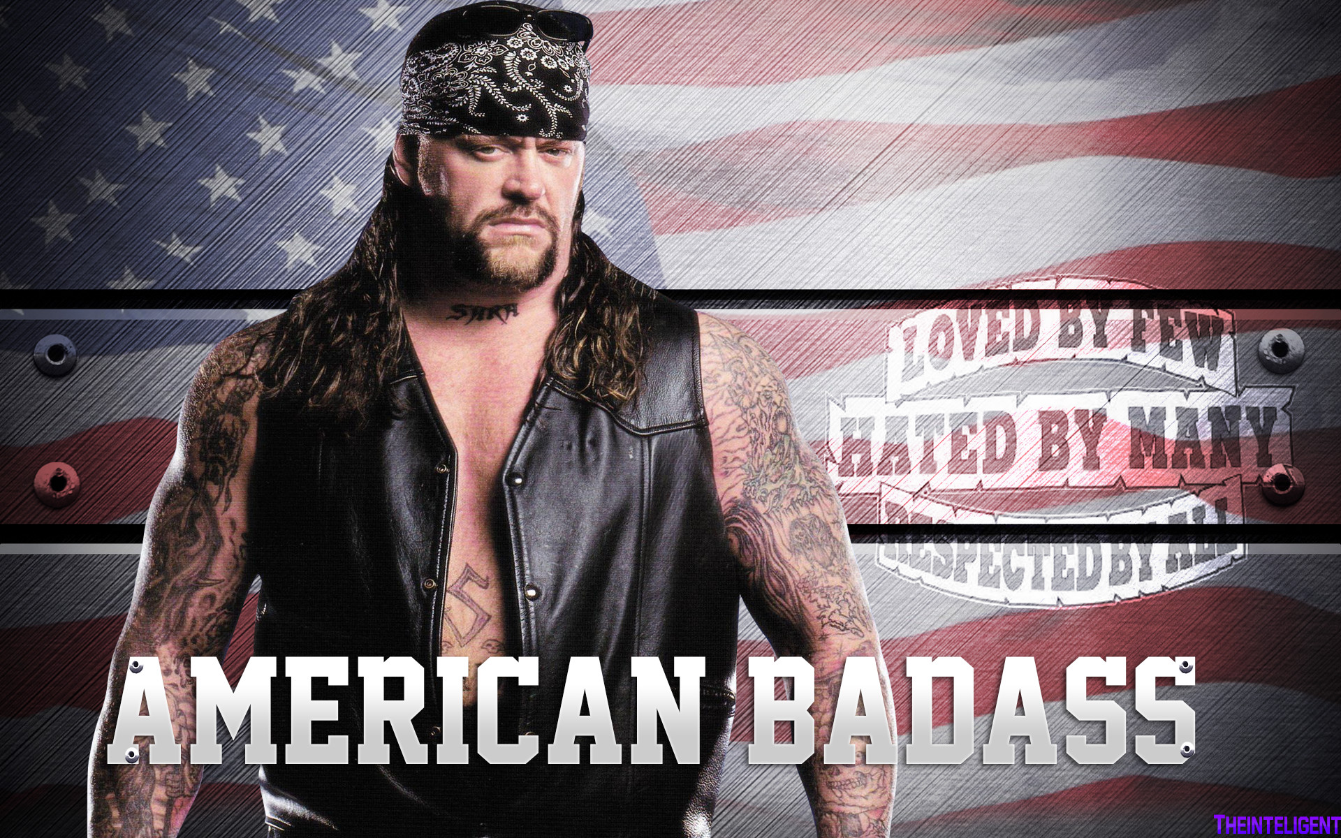 1920x1200 ... The Undertaker American Badass Wallpaper HD by Theinteligent