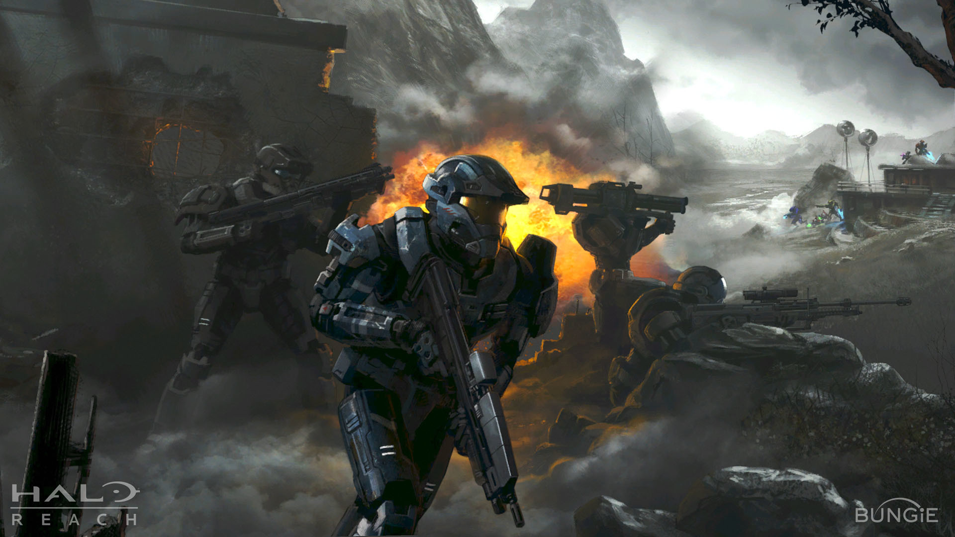 1920x1080 Halo: Reach HD Wallpapers