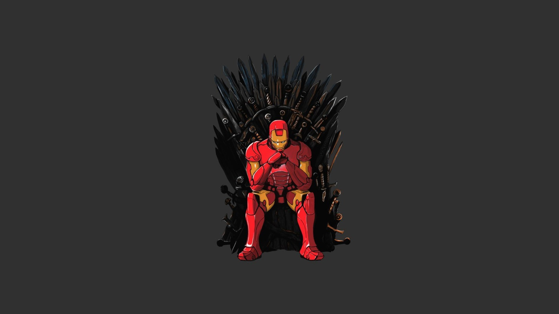 1920x1080  Iron Man Game of Thrones Mashup