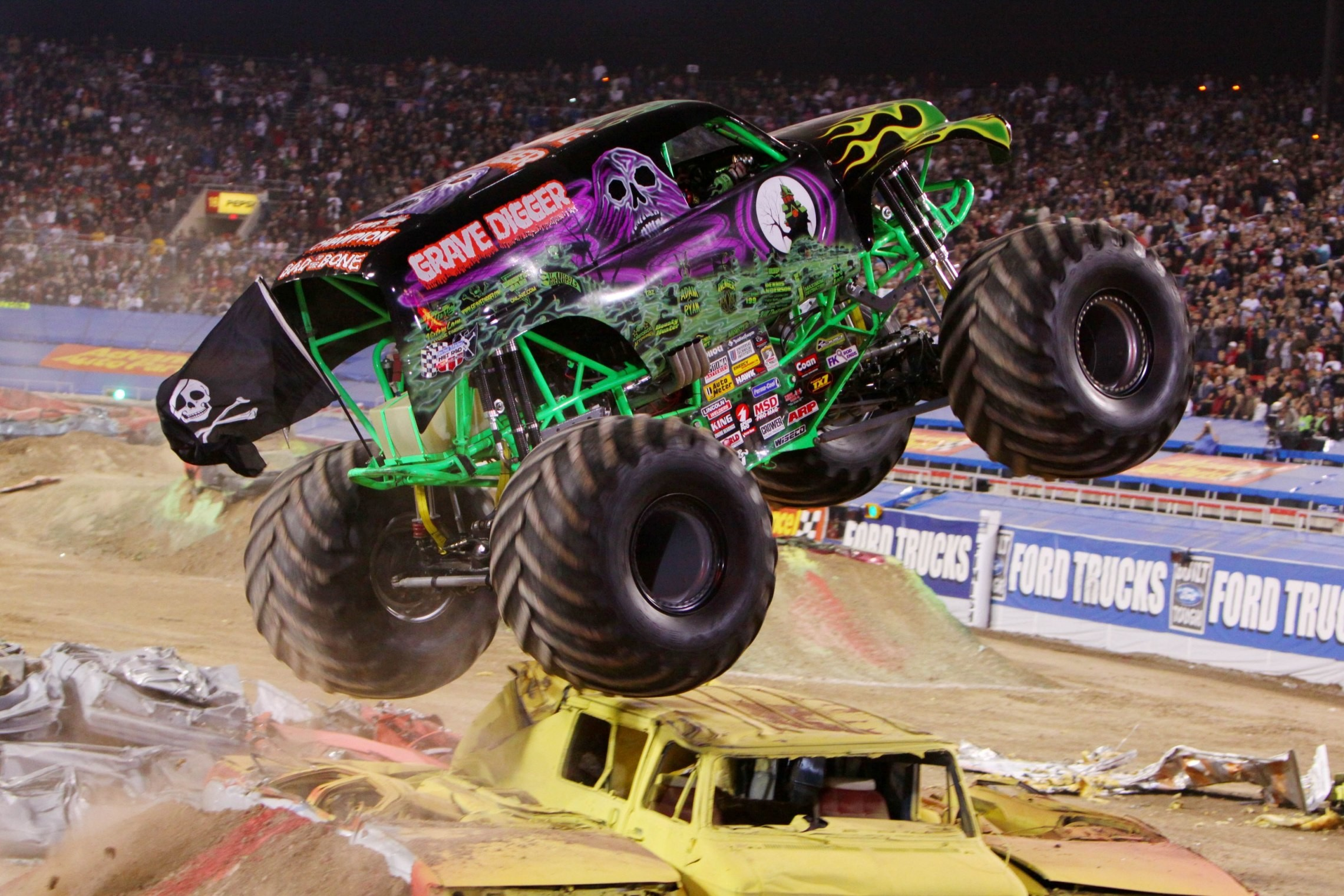 Monster Trucks Wallpaper 53 Images