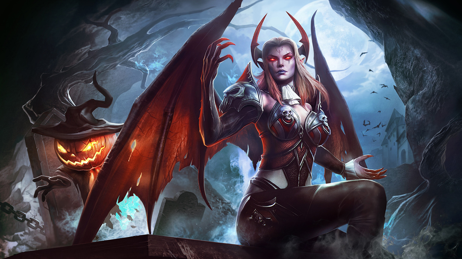 1924x1080 HD Wallpaper | Background ID:669196.  Fantasy Succubus