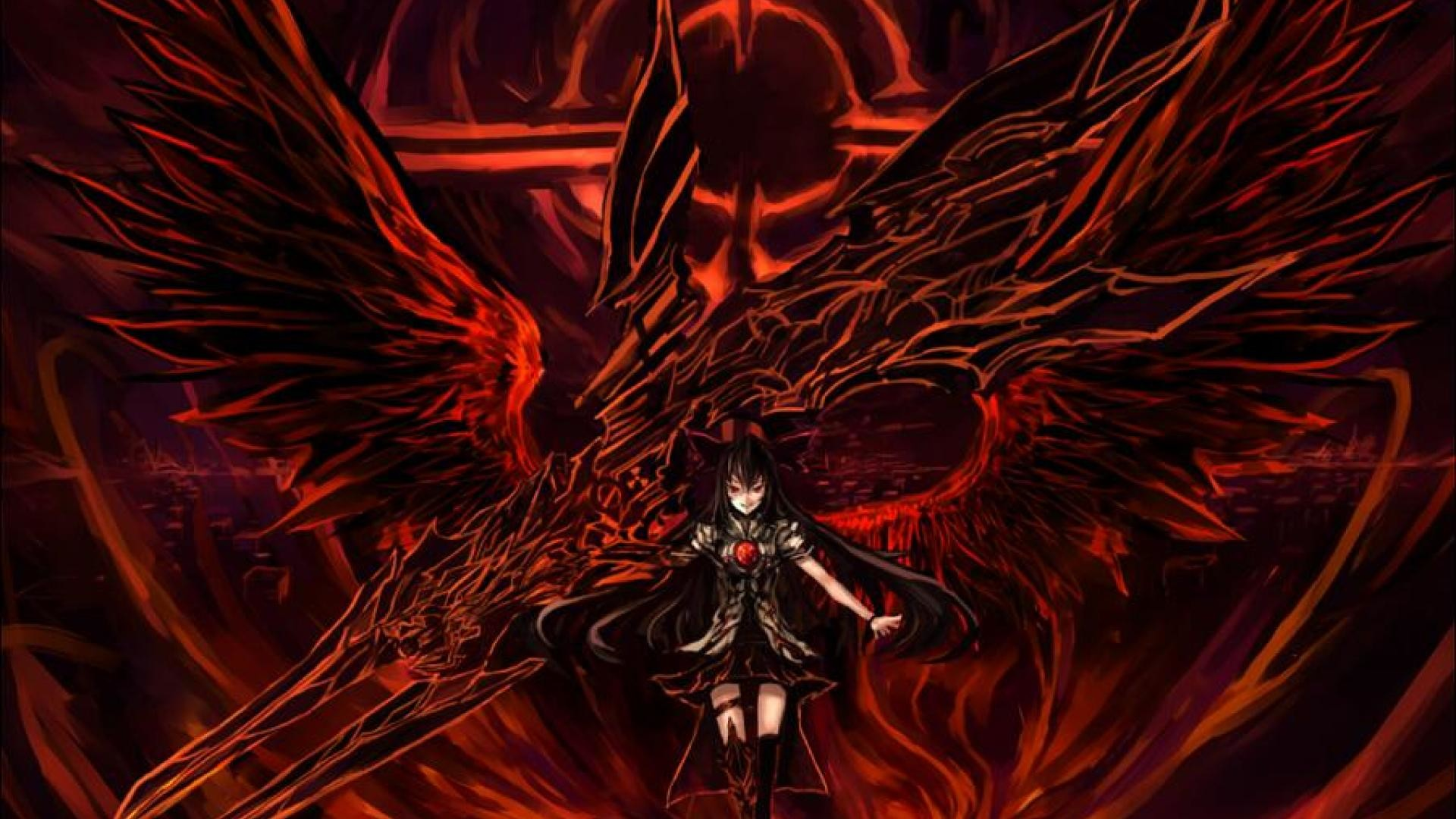1920x1080 Badass Utsuho Wallpaper