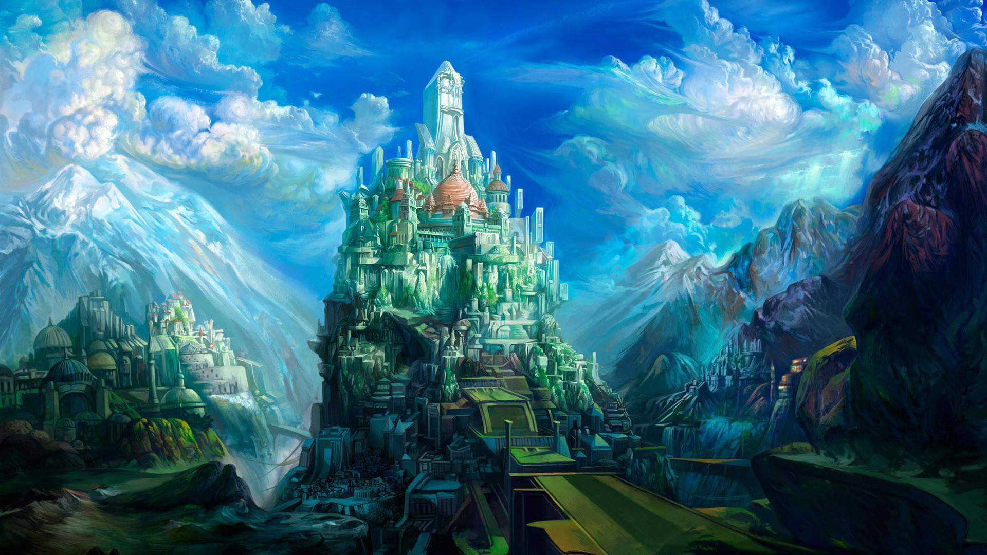 fantasy land wallpaper (67+ images)