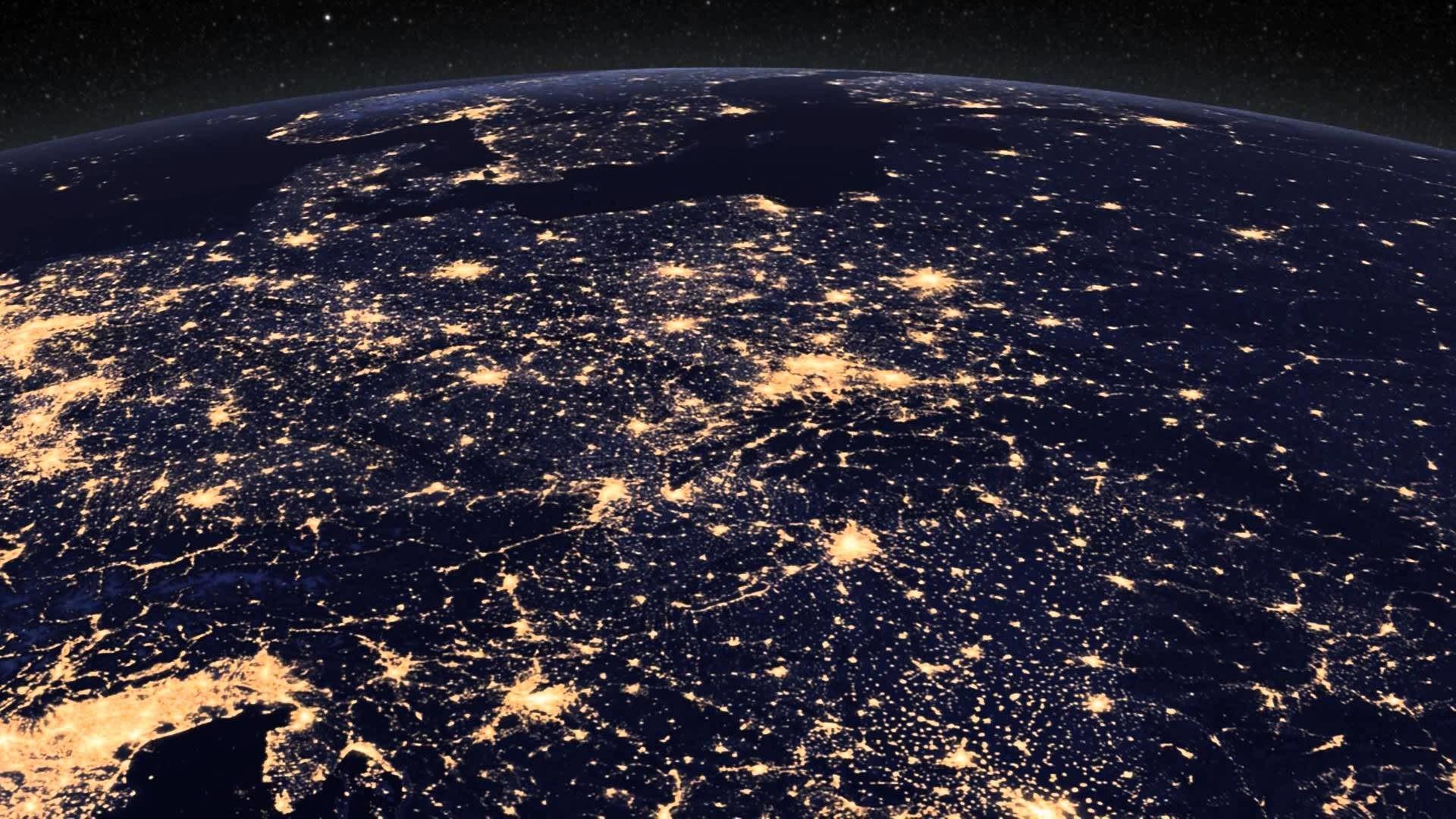 Earth At Night Wallpaper Hd 66 Images