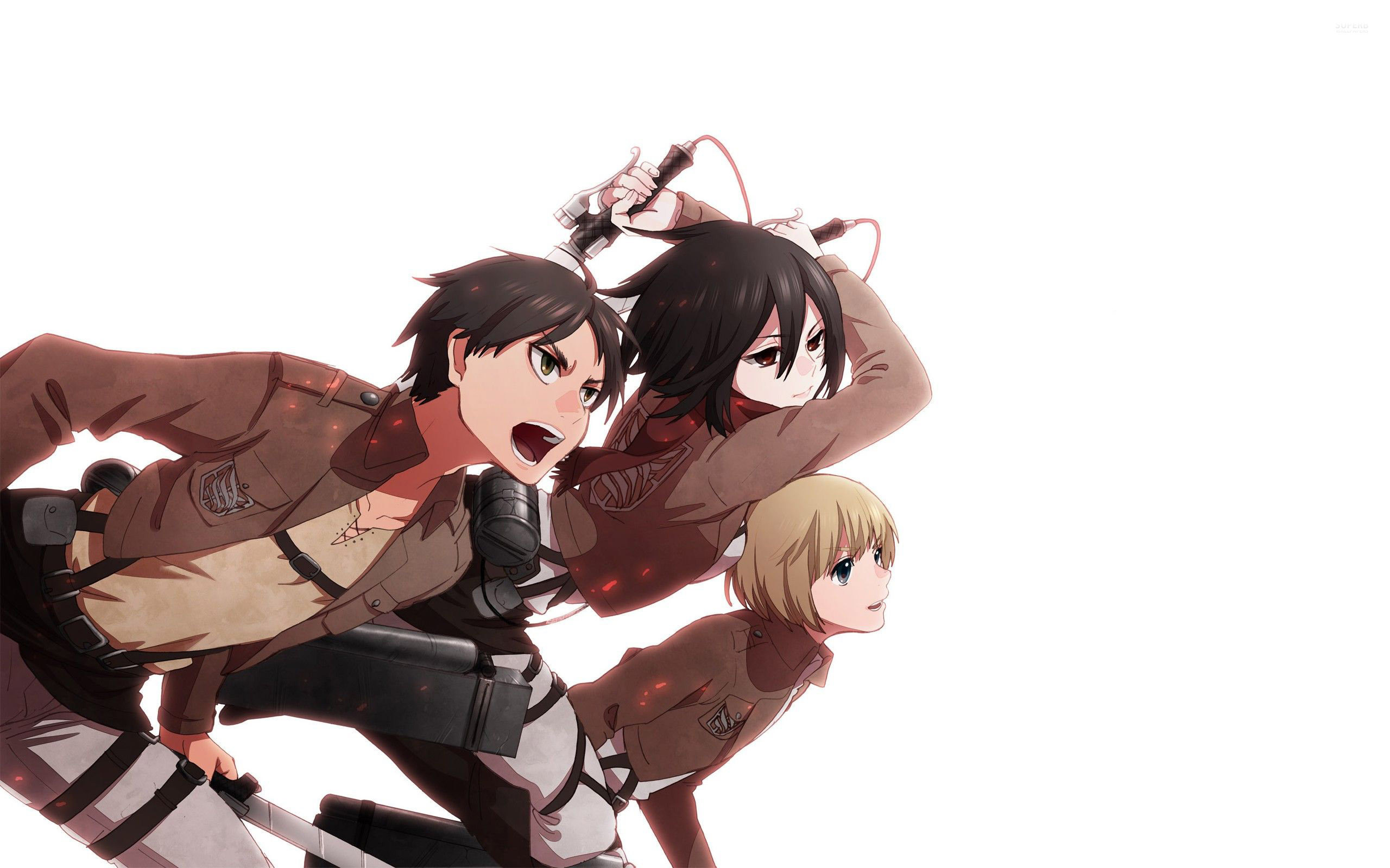 2560x1600 Attack on Titan