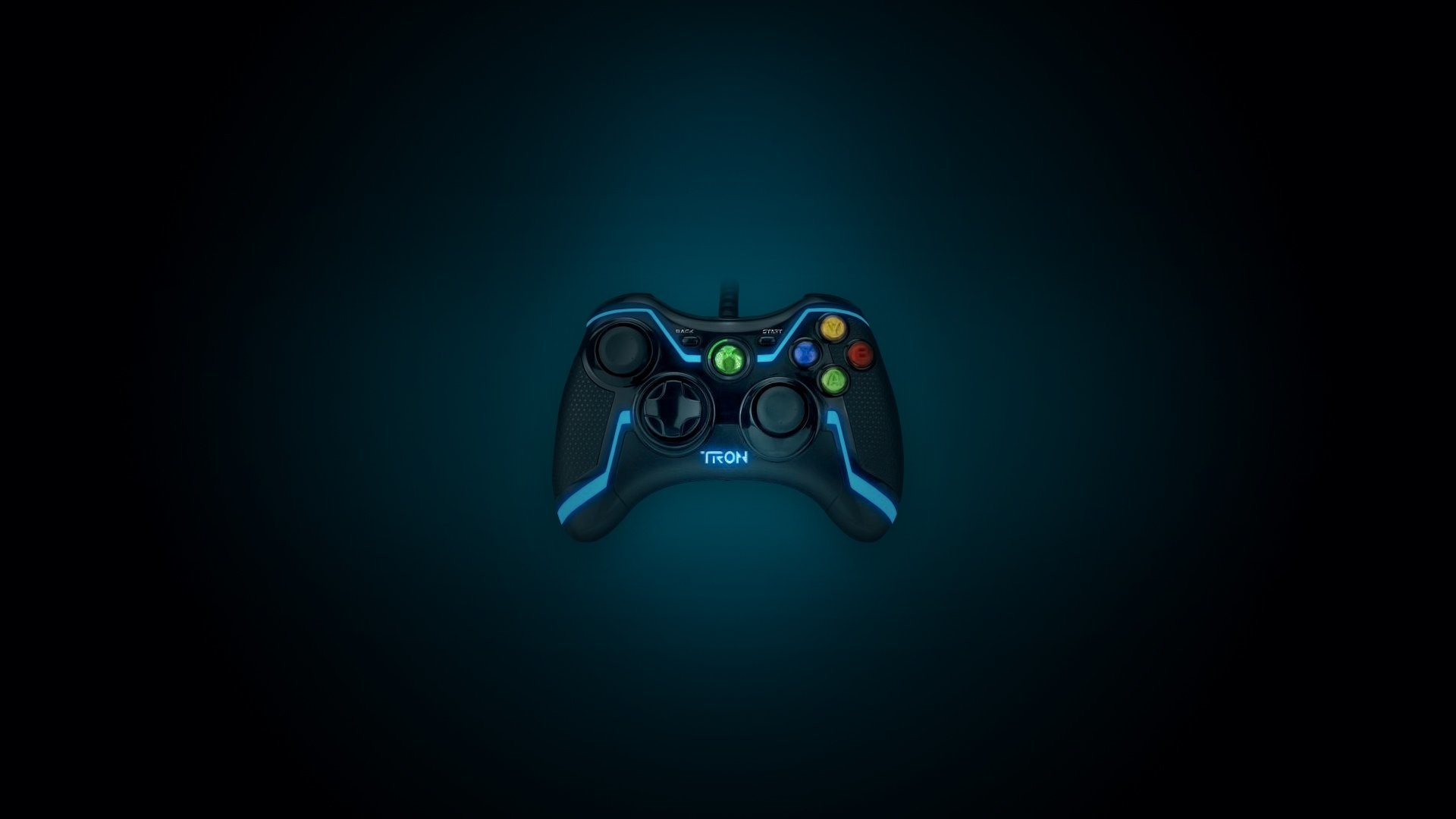 1920x1080 Ps3 Tron Controller Wallpaper · cool gaming backgrounds ...