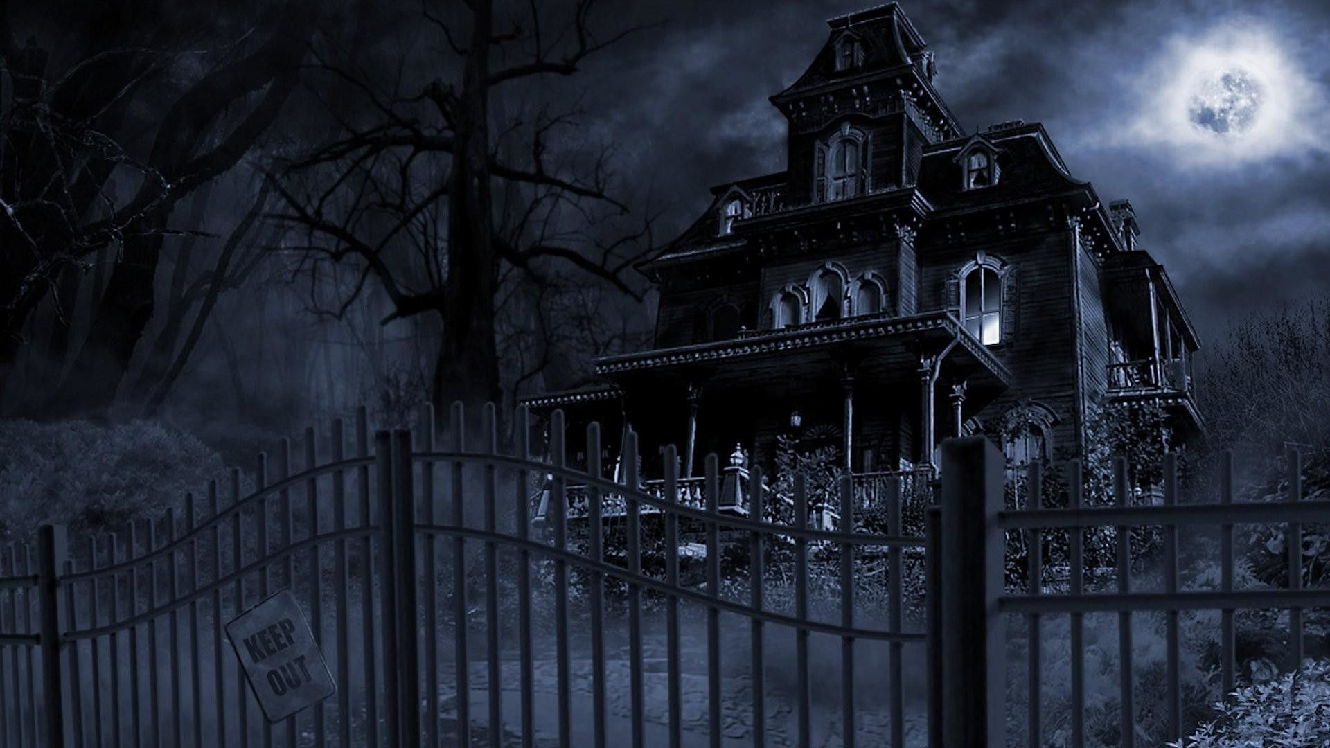 1920x1080  Halloween-Haunted-House-Wallpapers