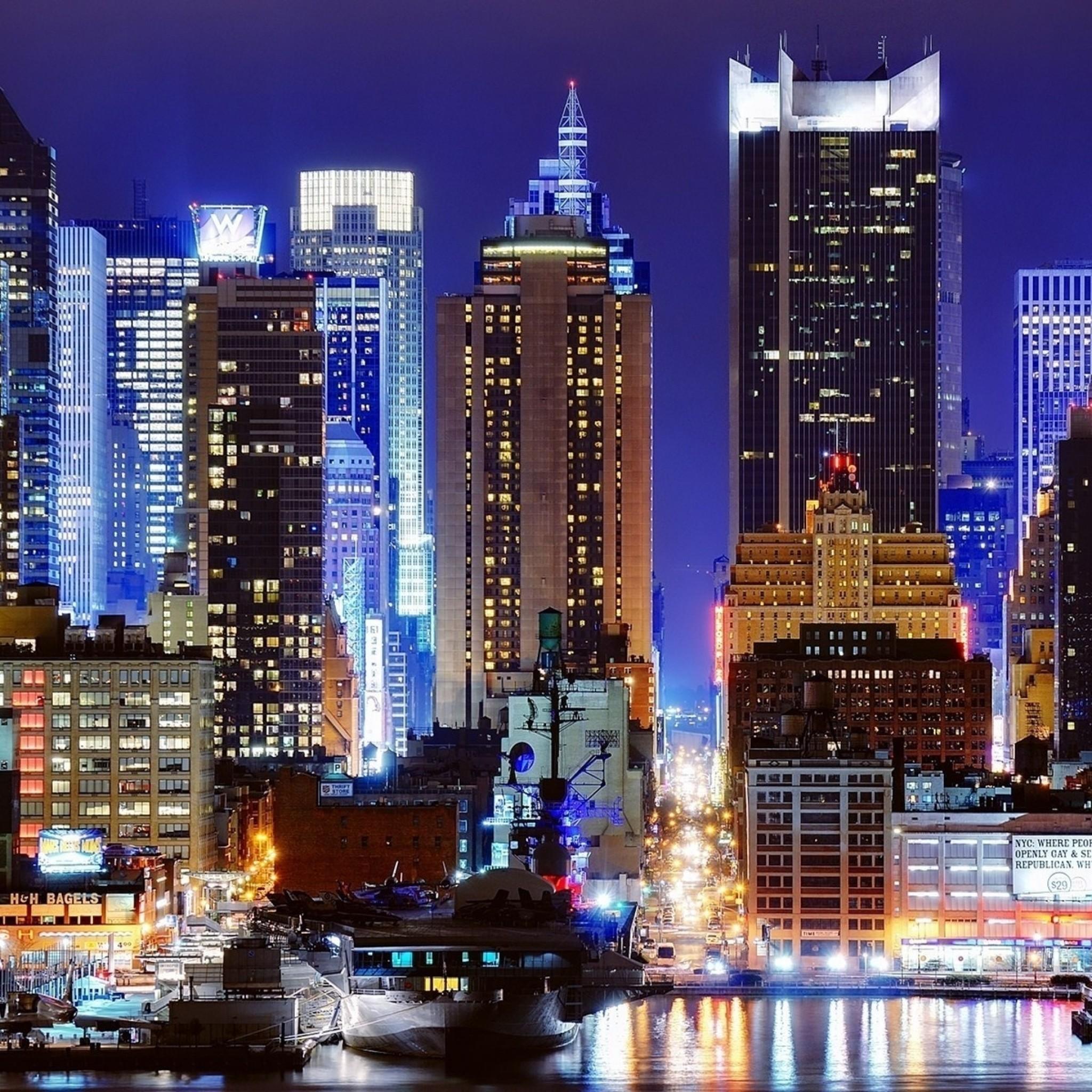 New York At Night Wallpaper (67+ Images