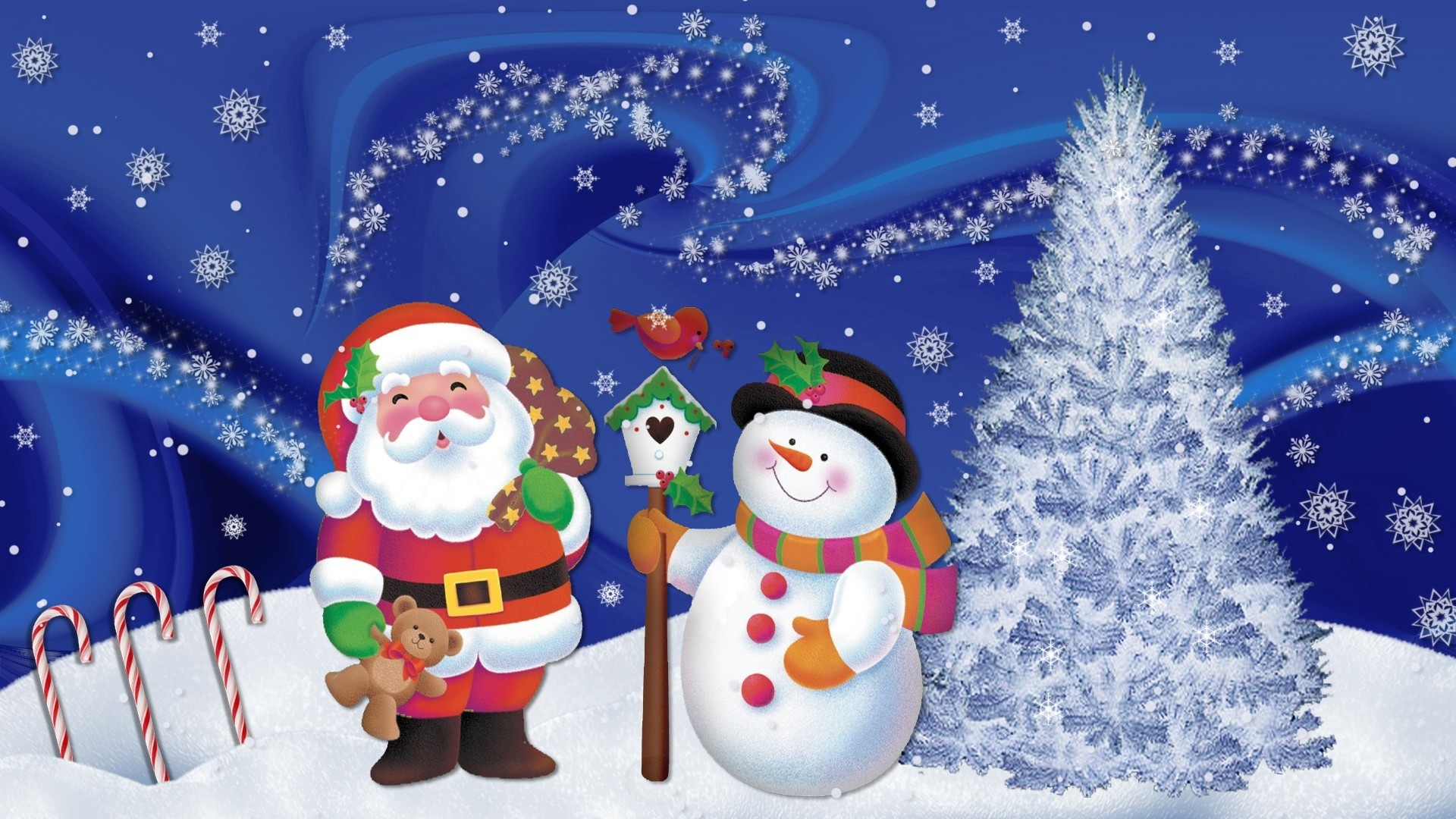 1920x1080 Christmas Wallpapers Animated Free