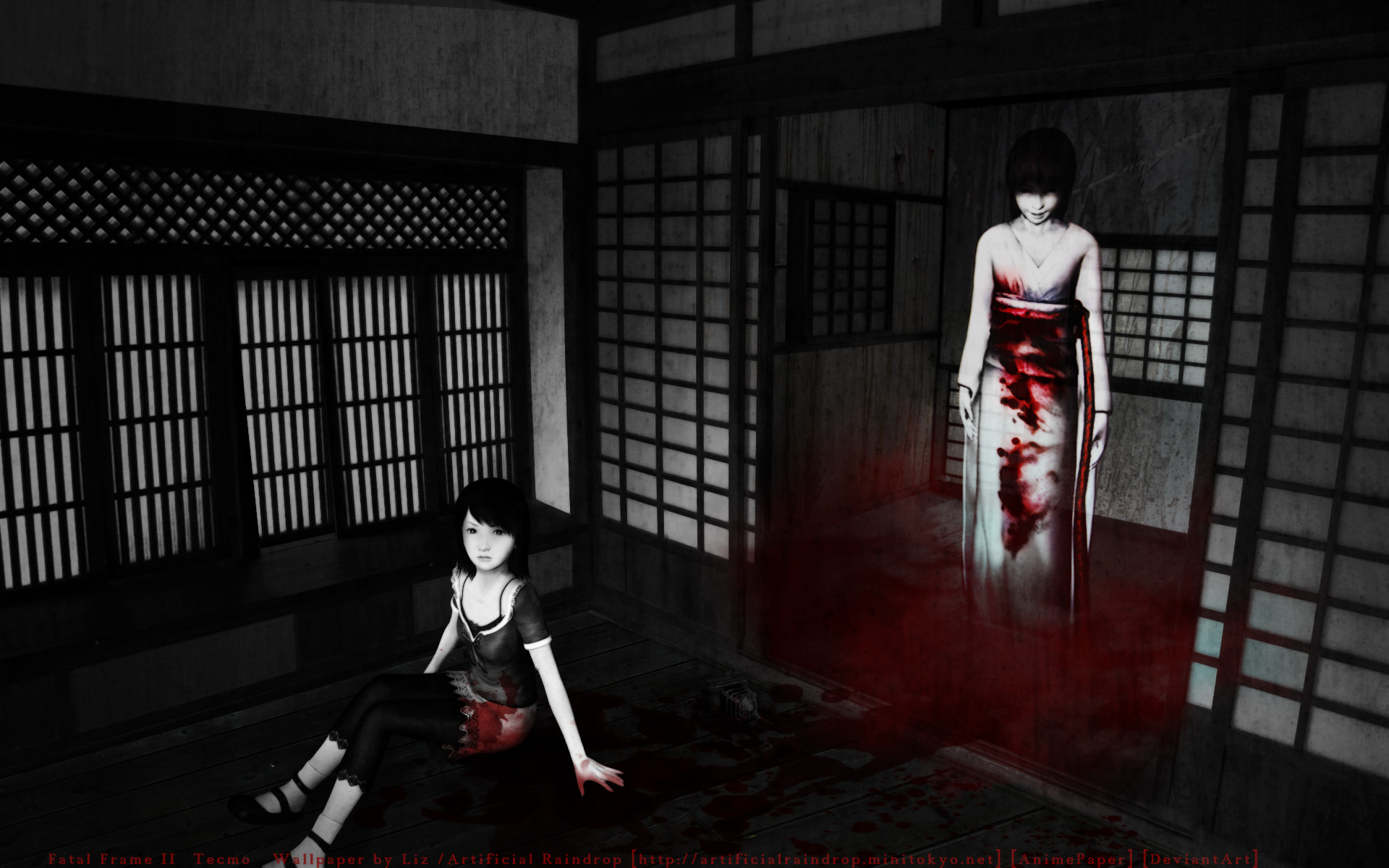 Fatal Frame 3 The Tormented 1080p running on PCSX2 0.9.9