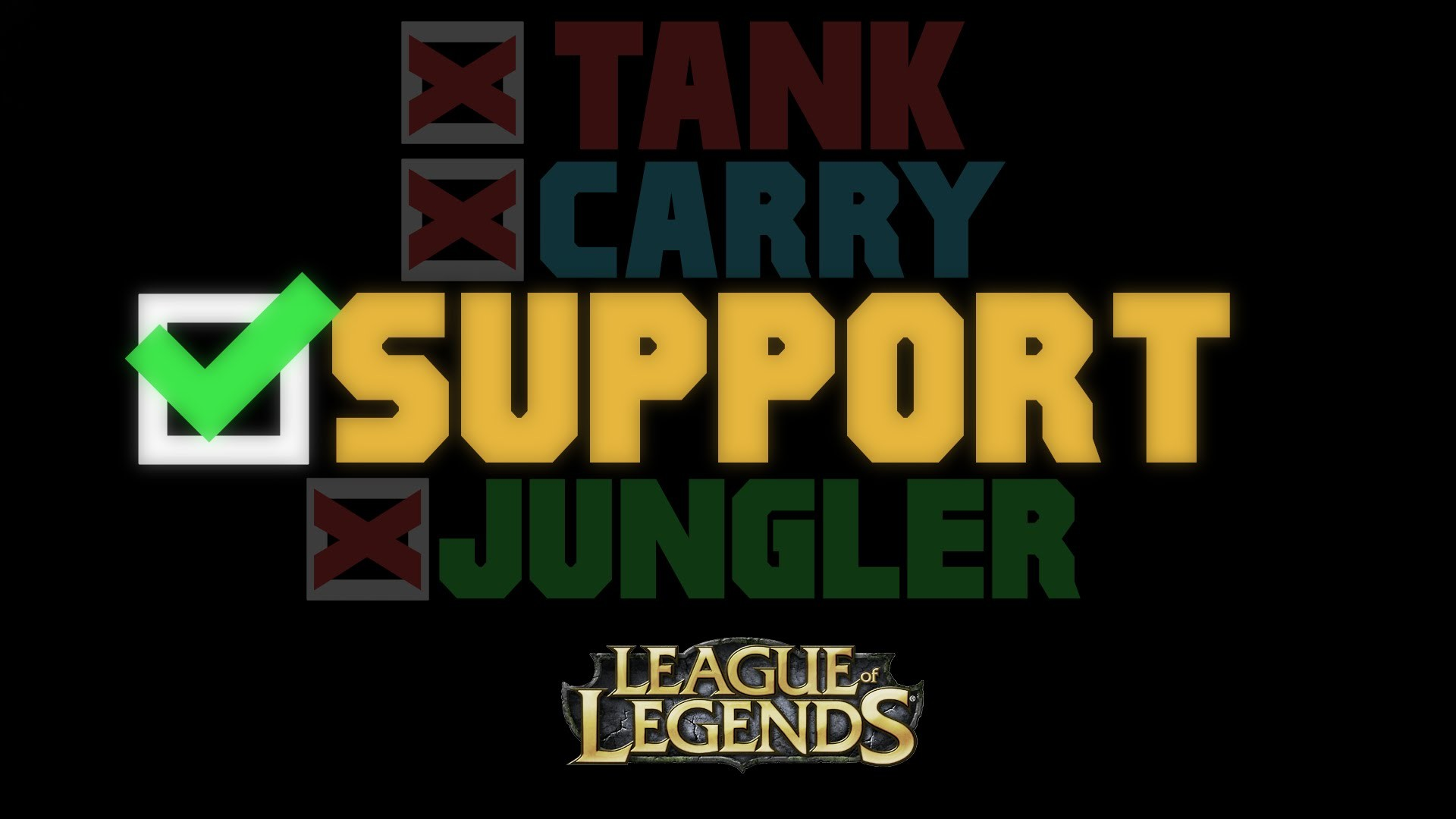 1920x1080 Support, compilation, League of Legends