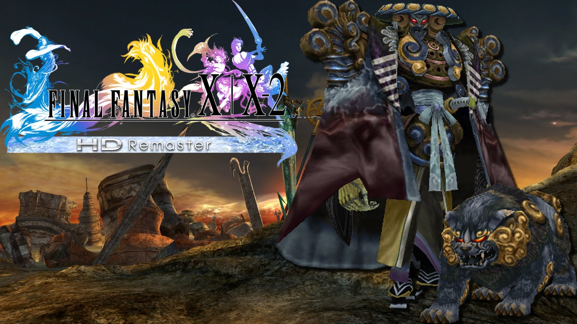 Final fantasy x hd remaster wallpaper