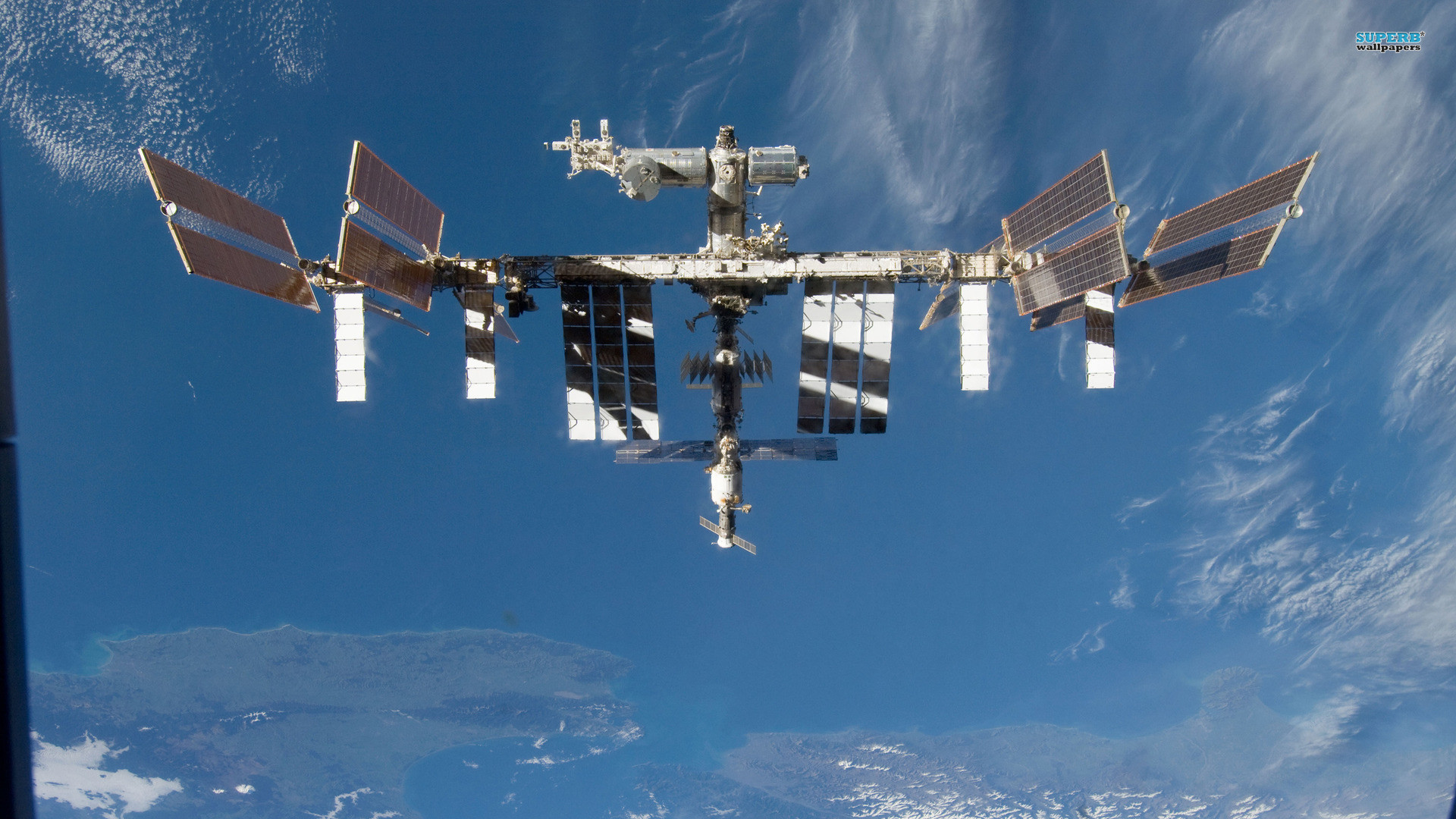 Iss Wallpapers Hd: International Space Station Wallpaper (65+ Images