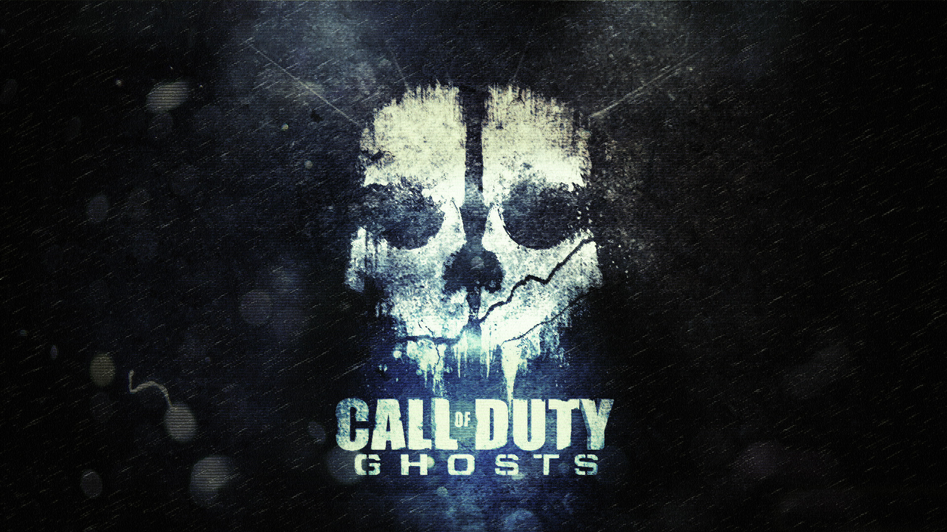 1920x1080 1920 x 1080 - Call of Duty Ghosts Wallpaper - Ghost Logo Design