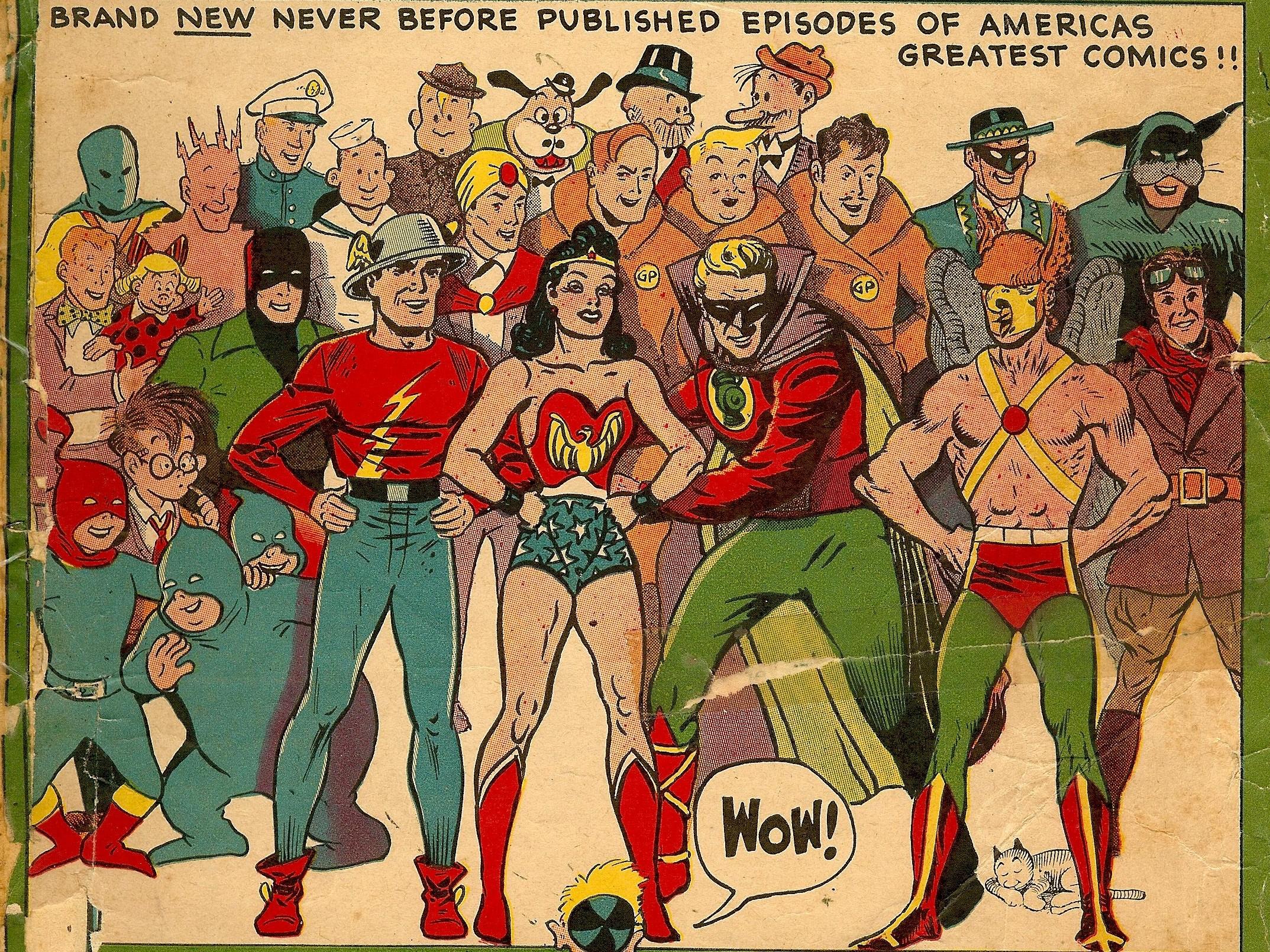 2560x1939 Invincible Comic Wallpaper