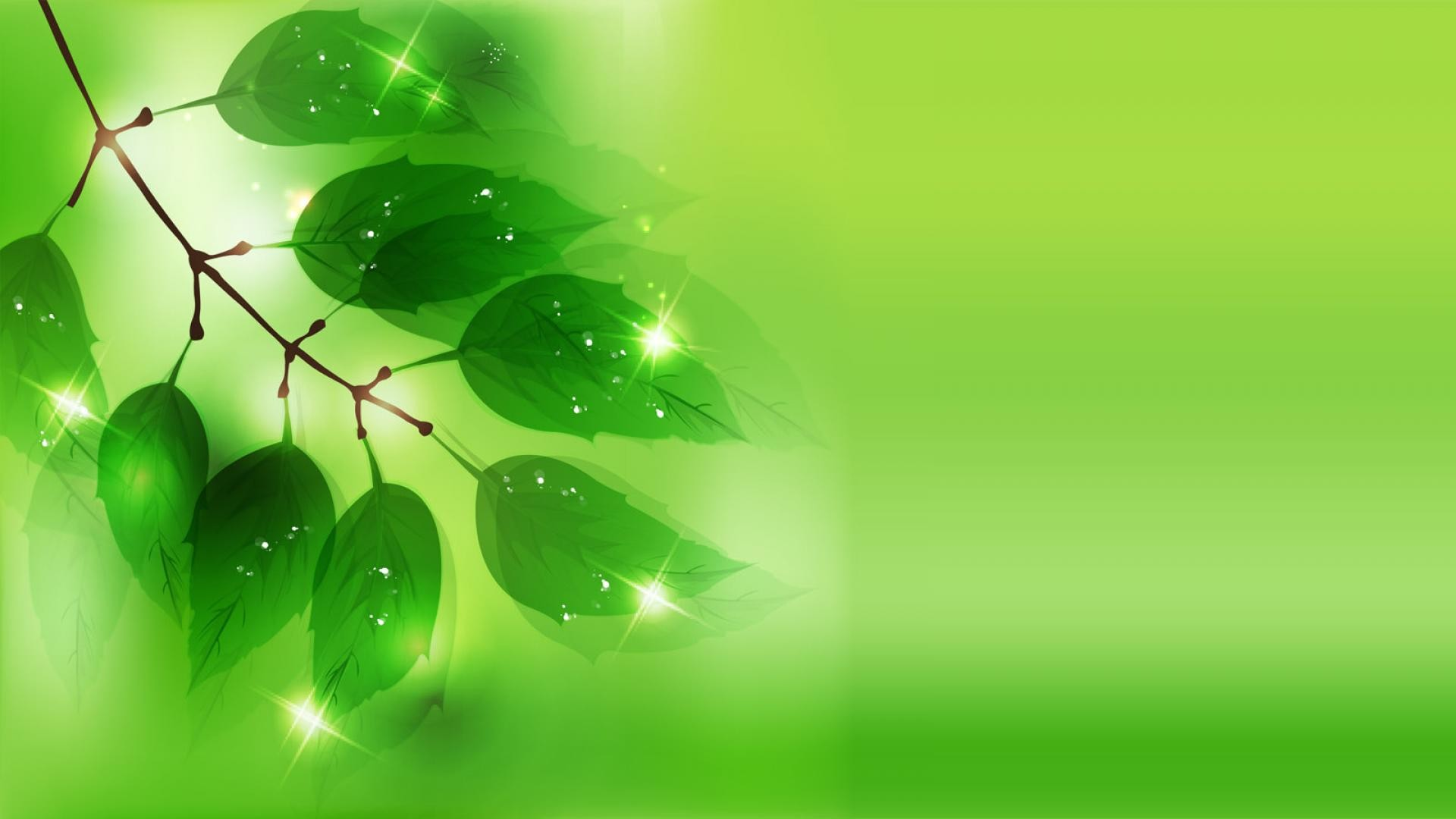 1920x1080 Green Background Vector wallpaper