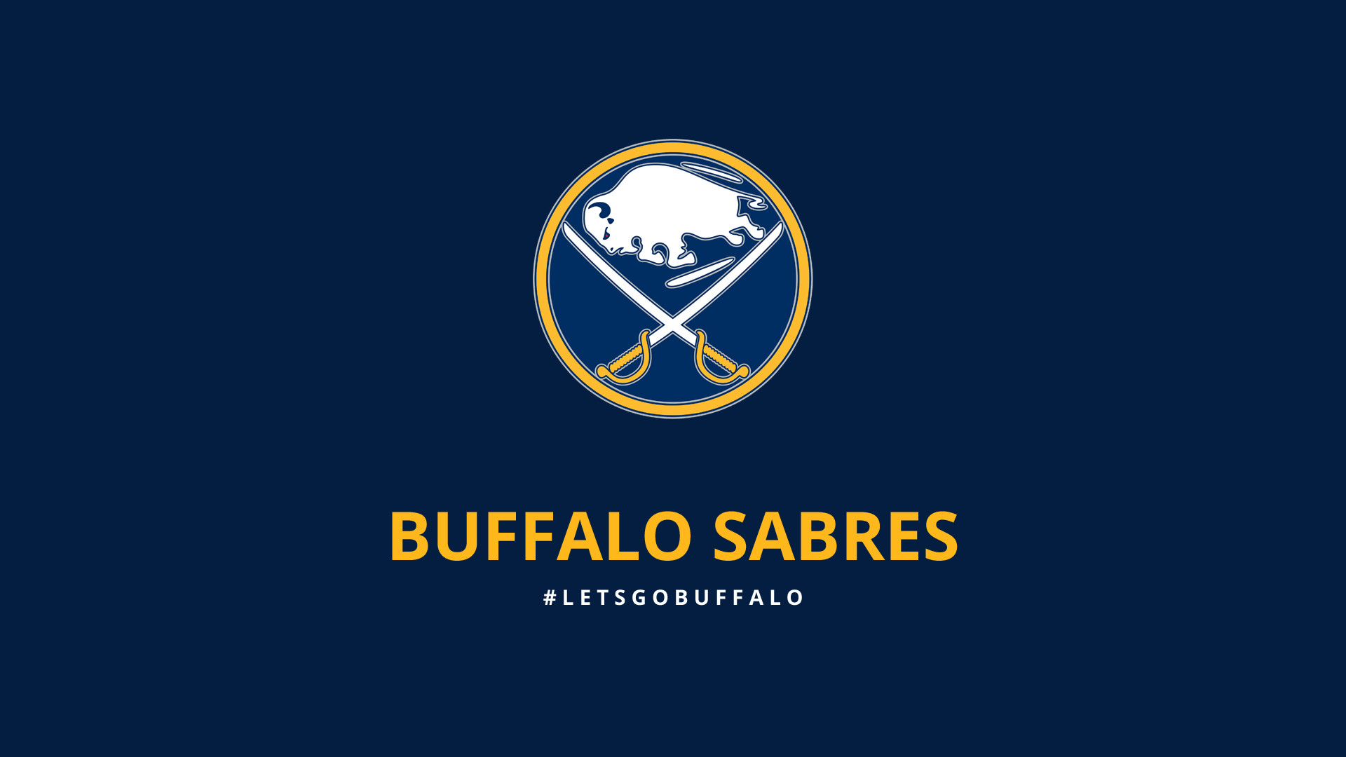 1920x1080 Minimalist Buffalo Sabres wallpaper by lfiore on DeviantArt