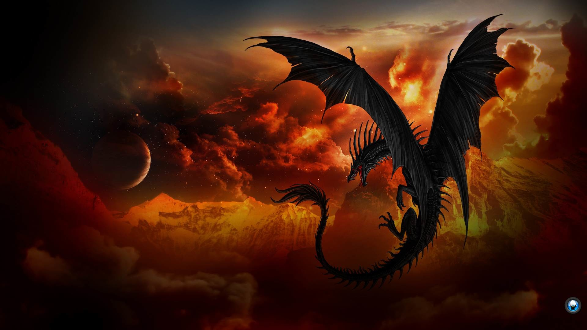1920x1080 Awesome Dragon Wallpapers Group 1920×1080