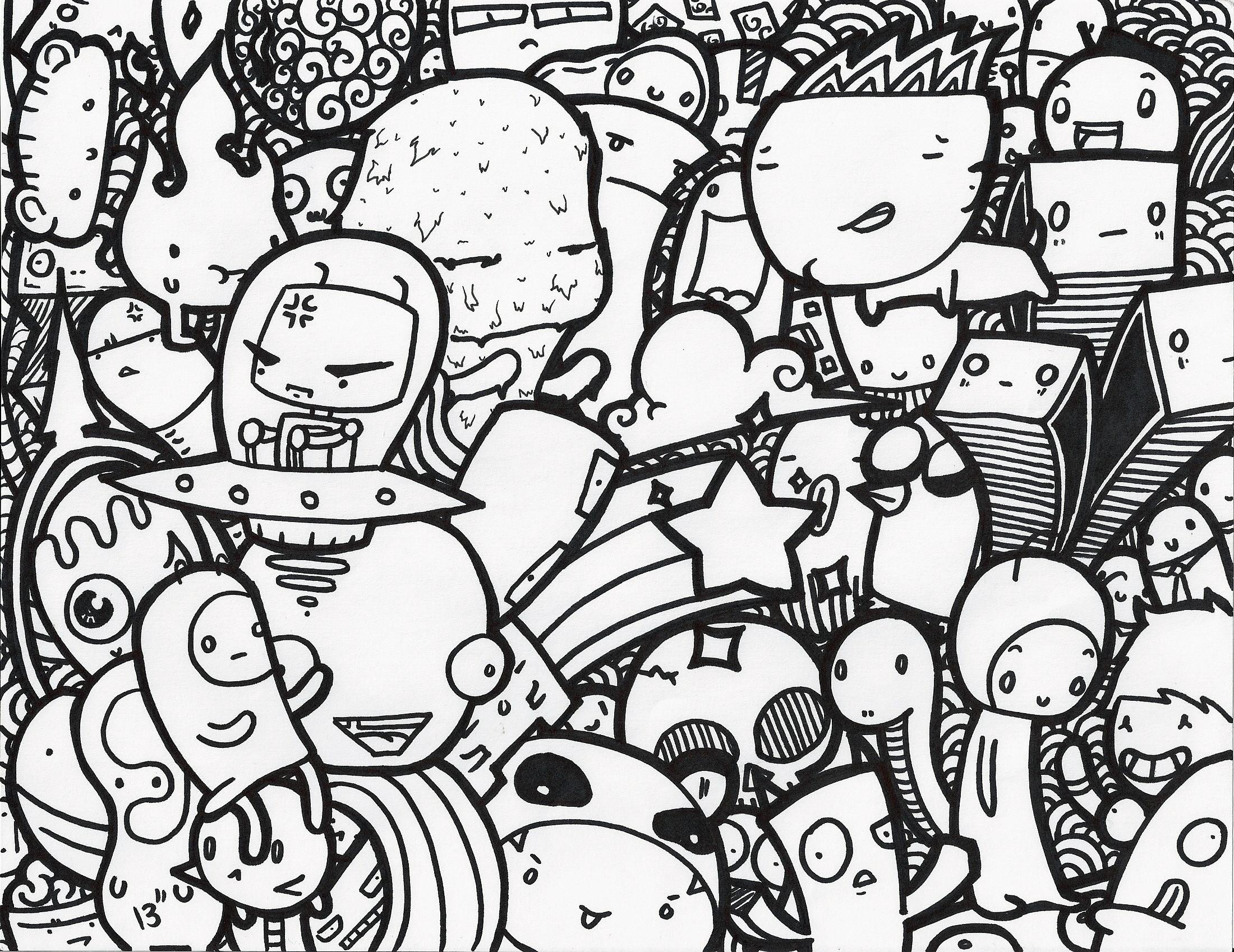2200x1698 Doodle Art Hd Doodle Wallpapers – Wallpapersafari