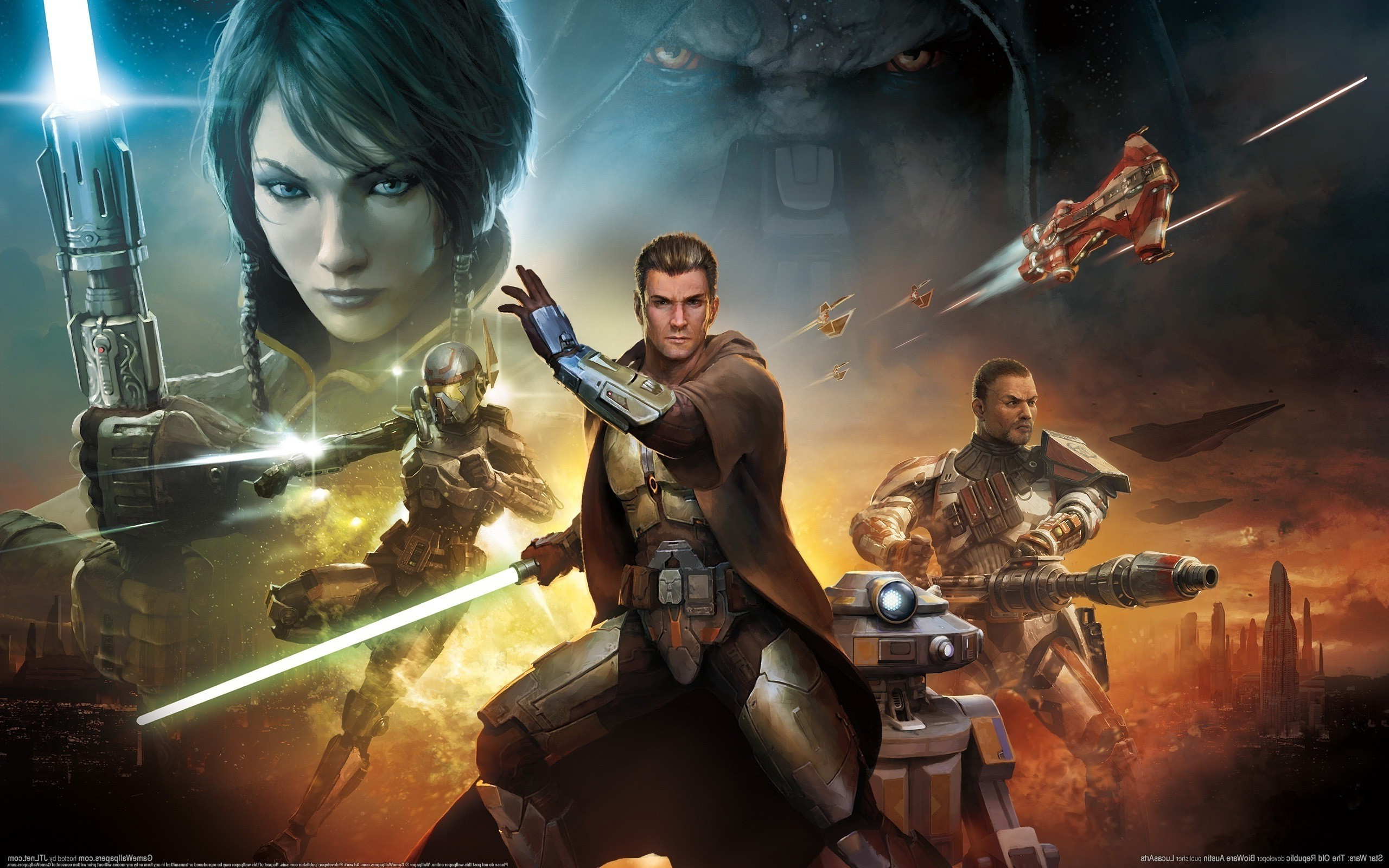 2560x1600 Star Wars, Star Wars: The Old Republic Wallpapers HD / Desktop and Mobile  Backgrounds