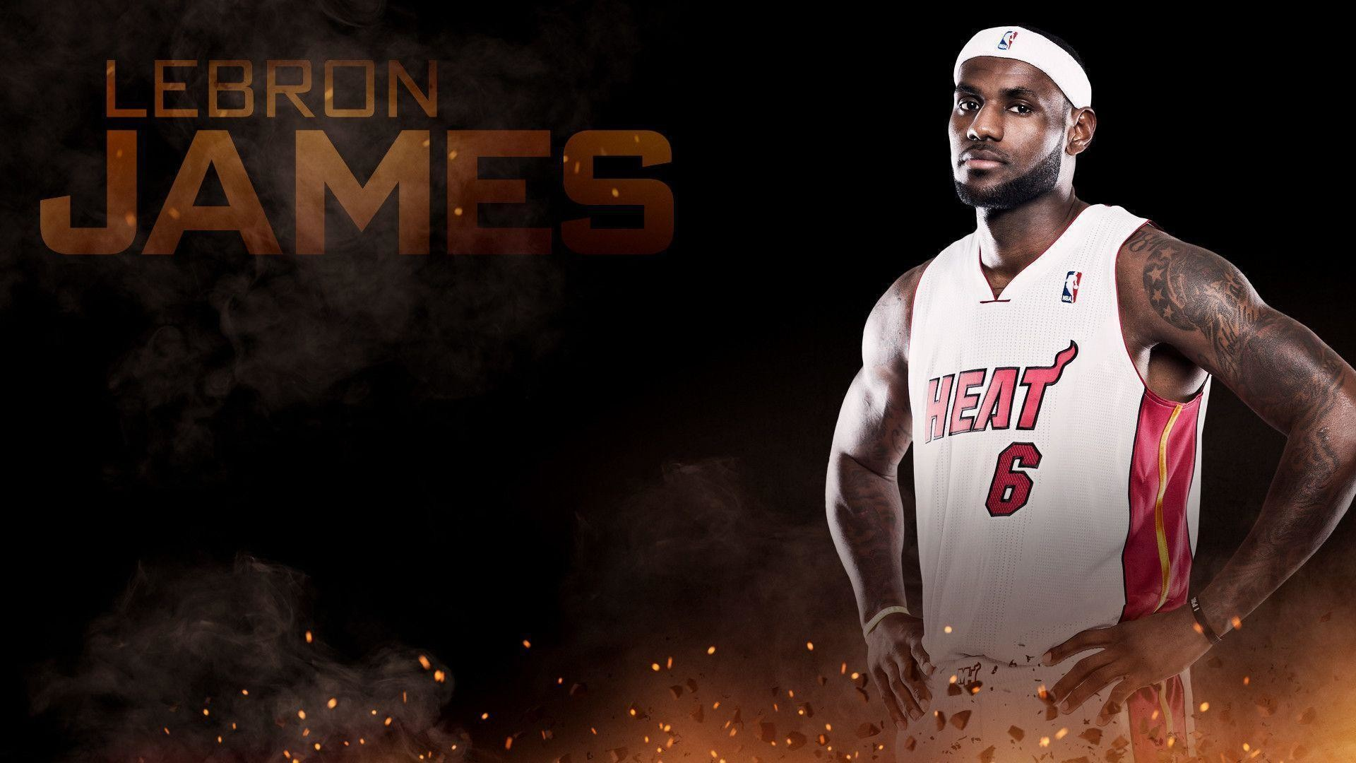 1920x1080 LeBron James Heat HD Wallpaper #191 | TanukinoSippo.