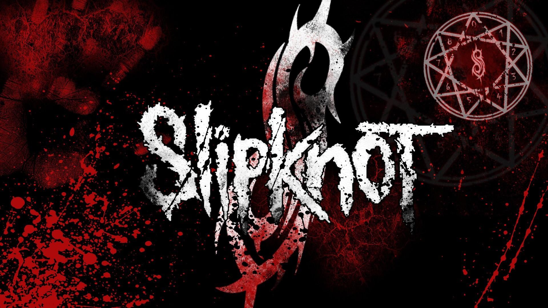 Slipknot logo wallpaper 2018 52 images 1920x1080 slipknot wallpapers voltagebd Image collections