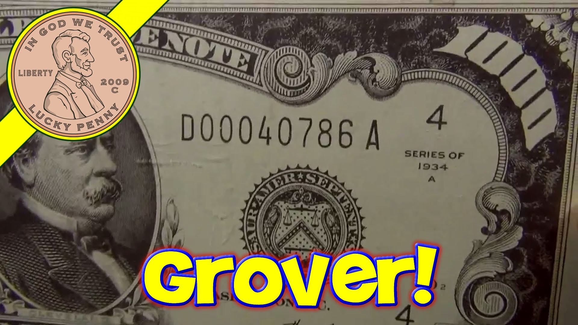 1920x1080 $1000 Dollar Bills Grover Cleveland Ruled Money Memo Desk Note Pads, Planet  Greetings - YouTube