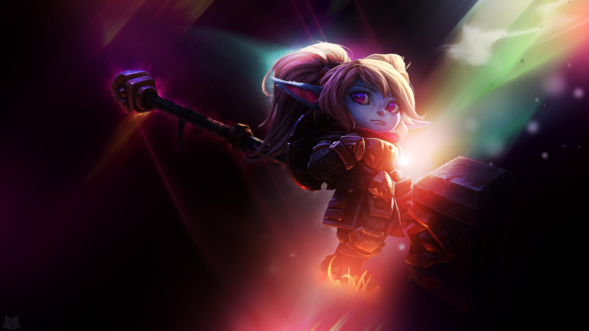 1920x1080 Poppy League of Legends Wallpapers