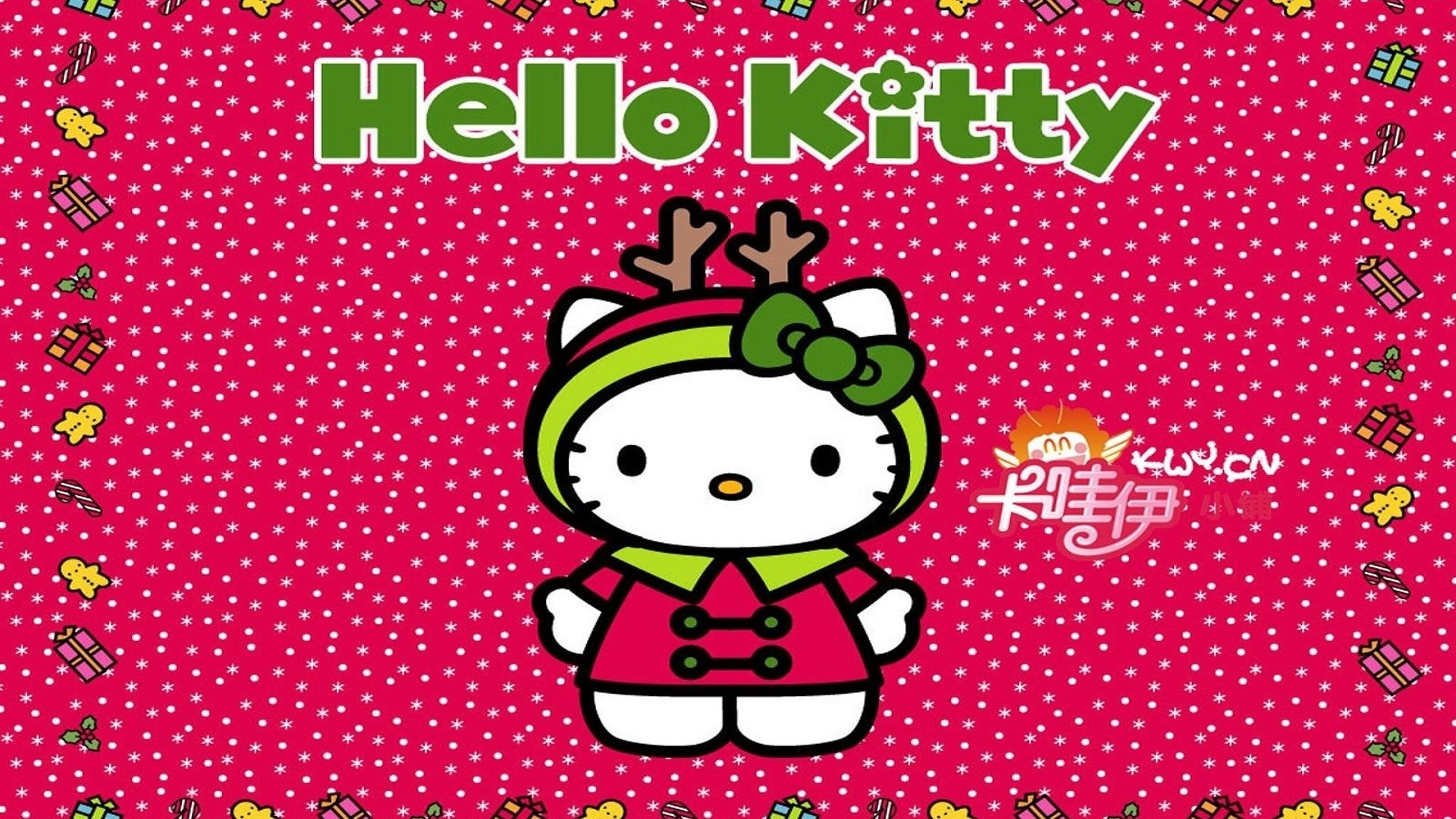 Hello kitty wallpaper pictures 66 images 1920x1080 1920x1080 hello kitty kids baby children christmas hello kitty christmas voltagebd Image collections