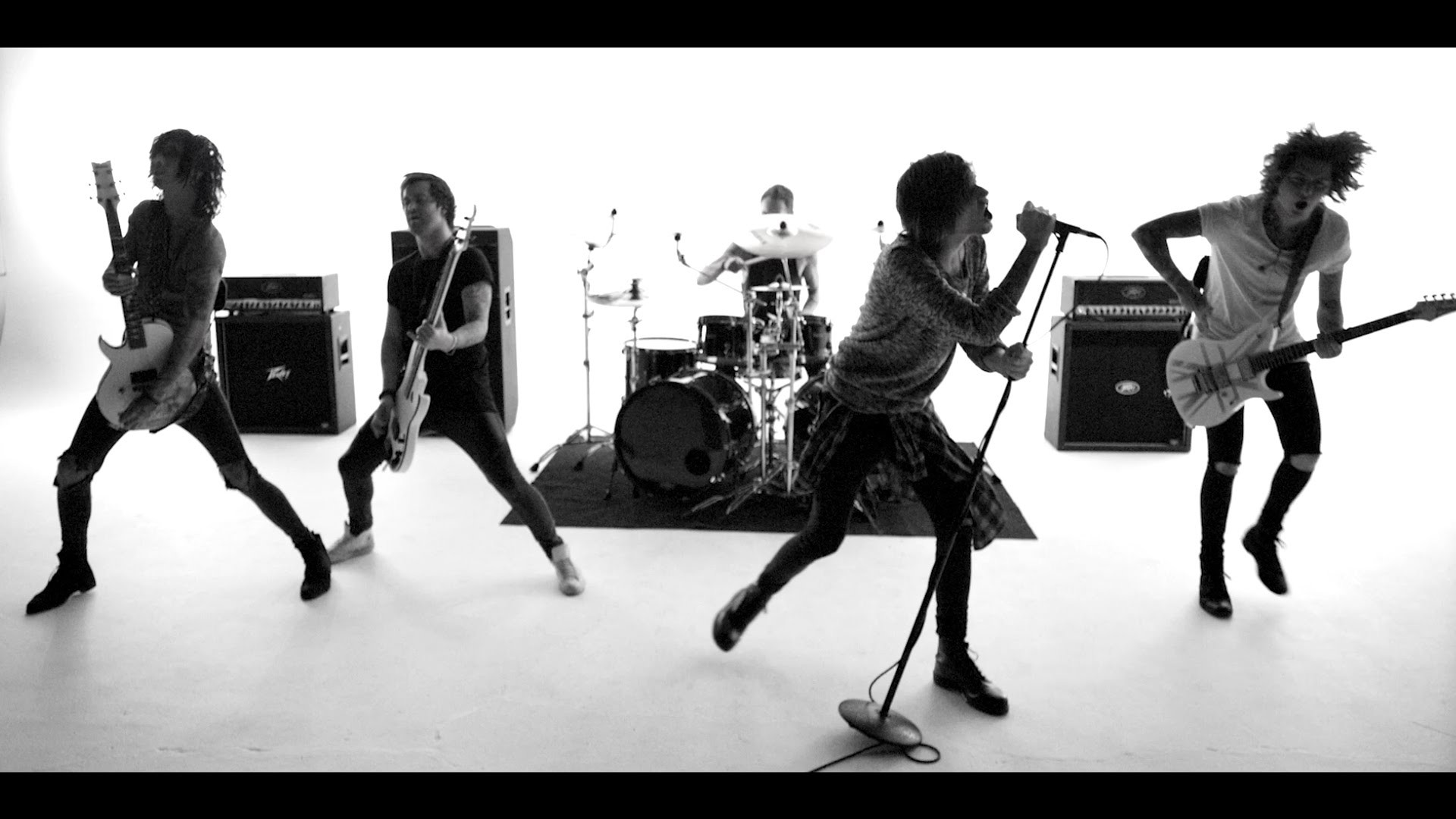 "1920x1080 ASKING ALEXANDRIA ""The Black"" Music Video Is What The Band Sounds Like In  2016 - Metal Injection"