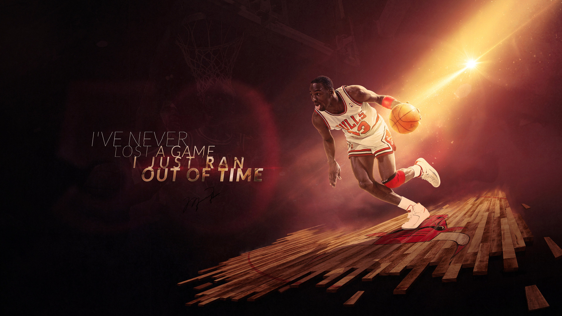 Michael Jordan Jersey Wallpaper: Michael Jordan Wallpaper 1920x1080 (74+ Images
