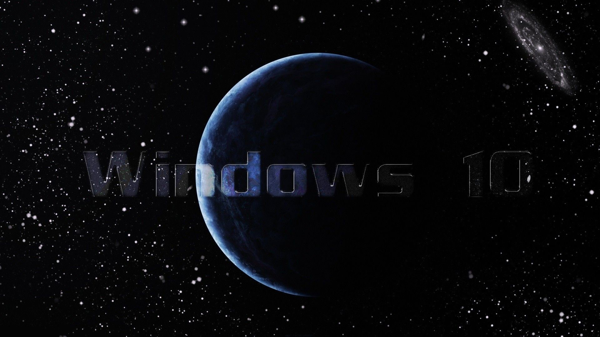 1920x1080 Windows 10 Galaxy wallpaper  (1080p) - Wallpaper .