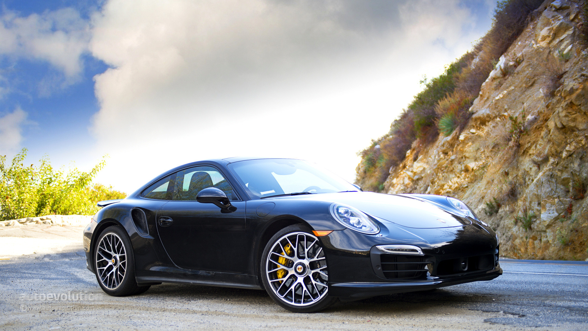 1920x1080 Porsche 911 2015 Black 2015 Porsche 911 Turbo White Free Wallpaper Desktop