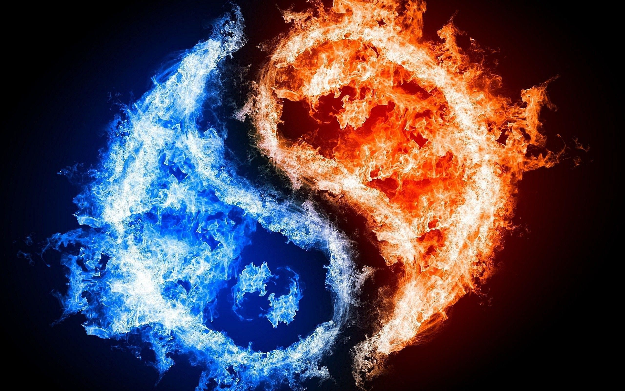 Cool Fire And Ice Wallpapers 74 Images