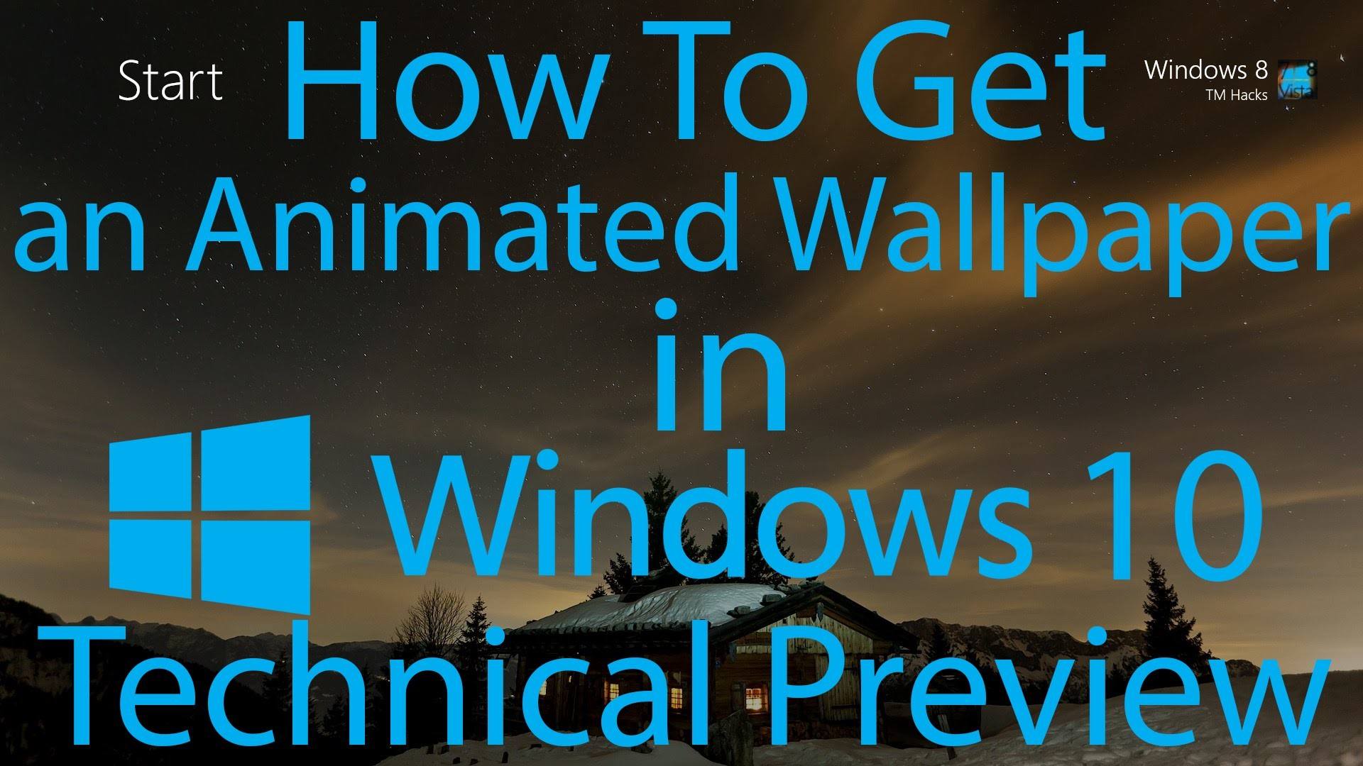 1920x1080 How To Have an Animated Wallpaper in Windows 10 Technical Preview.