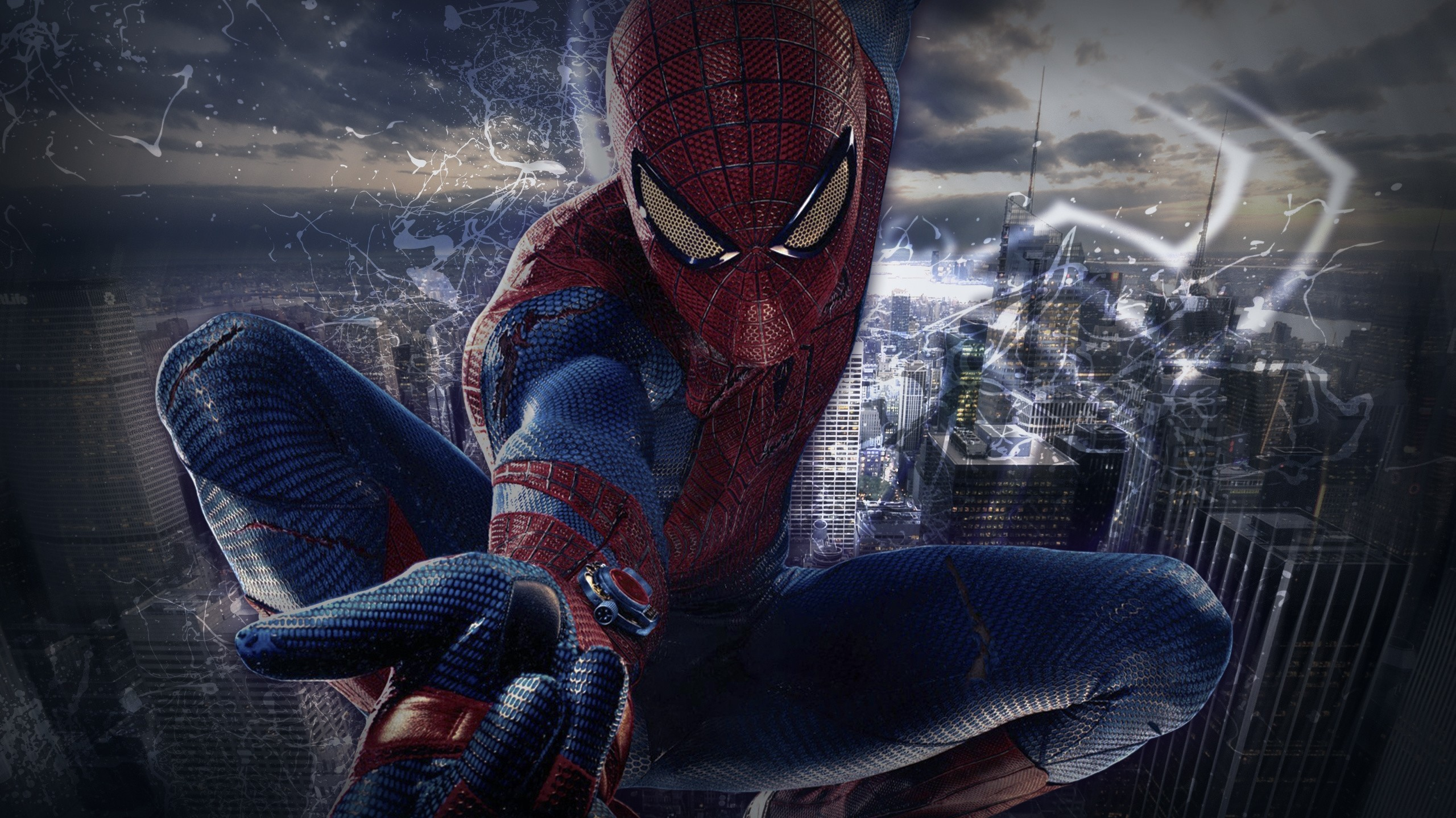2560x1440 4K Spiderman Wallpaper, HQ Definition Desktop Wallpapers ... 4k superhero  ...