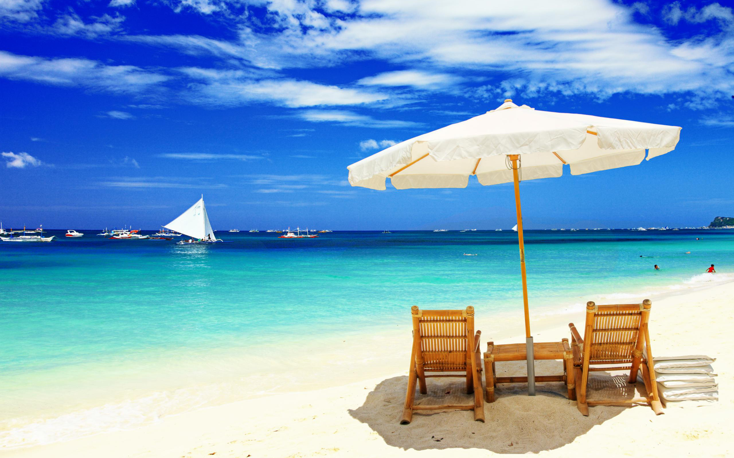 Beach Wallpaper Widescreen High Resolution 60 Images 2560x1600 Casual
