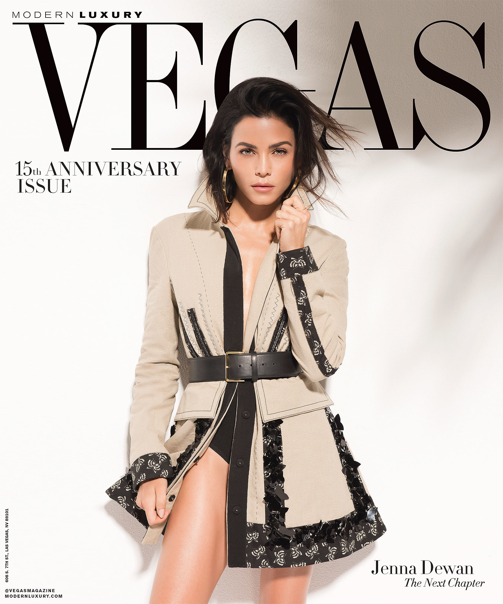 1667x2000 VEGAS Magazine Celebrates its 15th Anniversary Issue with cover star Jenna  Dewan and Downtown Summerlin®